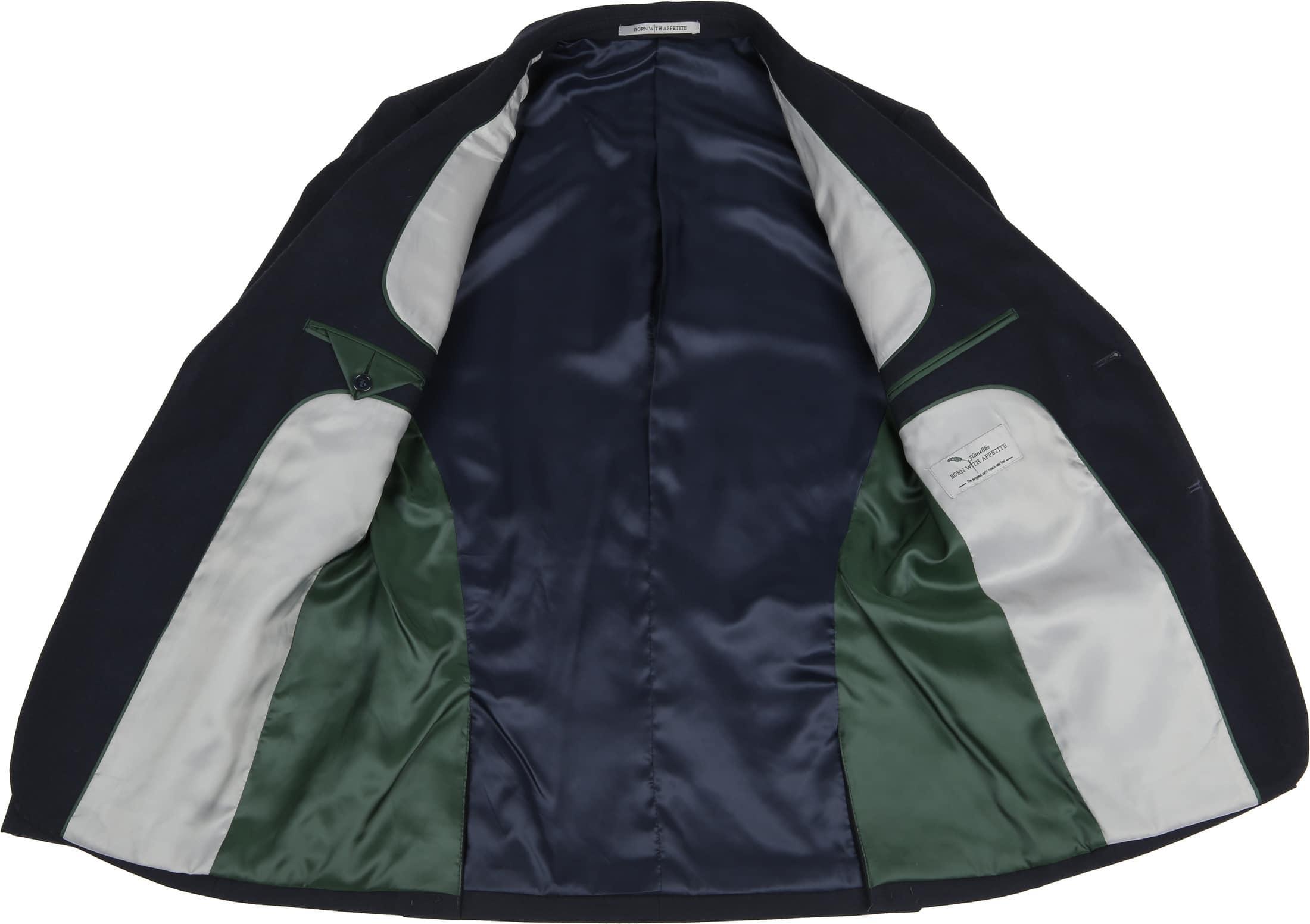 Suitable Sneaker Suit Flannel Navy 3D foto 4