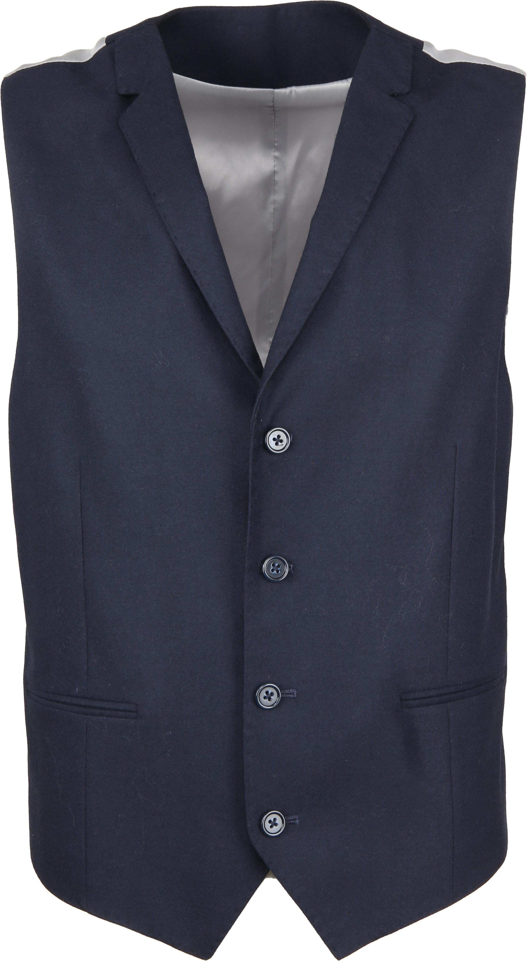Suitable Sneaker Suit Flannel Navy 3D foto 6