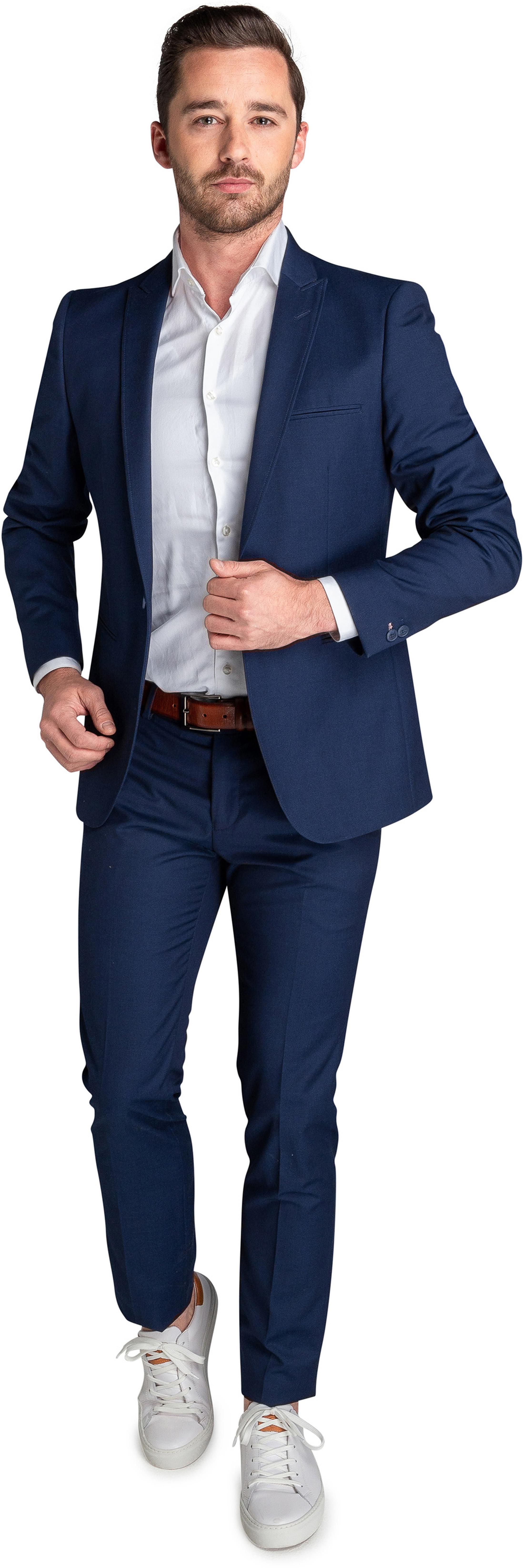 Suitable Sneaker Suit Mid Blue foto 0