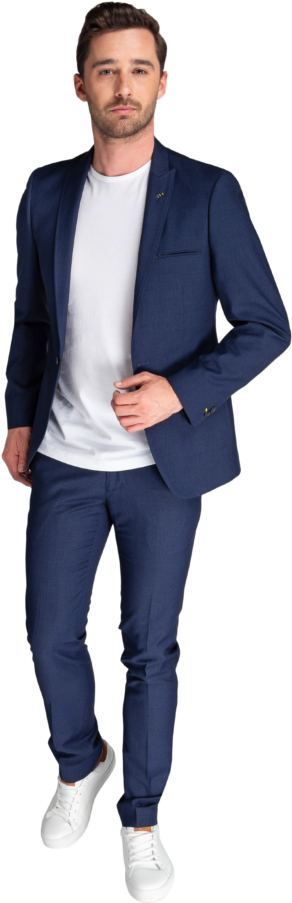 Suitable Sneaker Suit Struct Navy foto 0