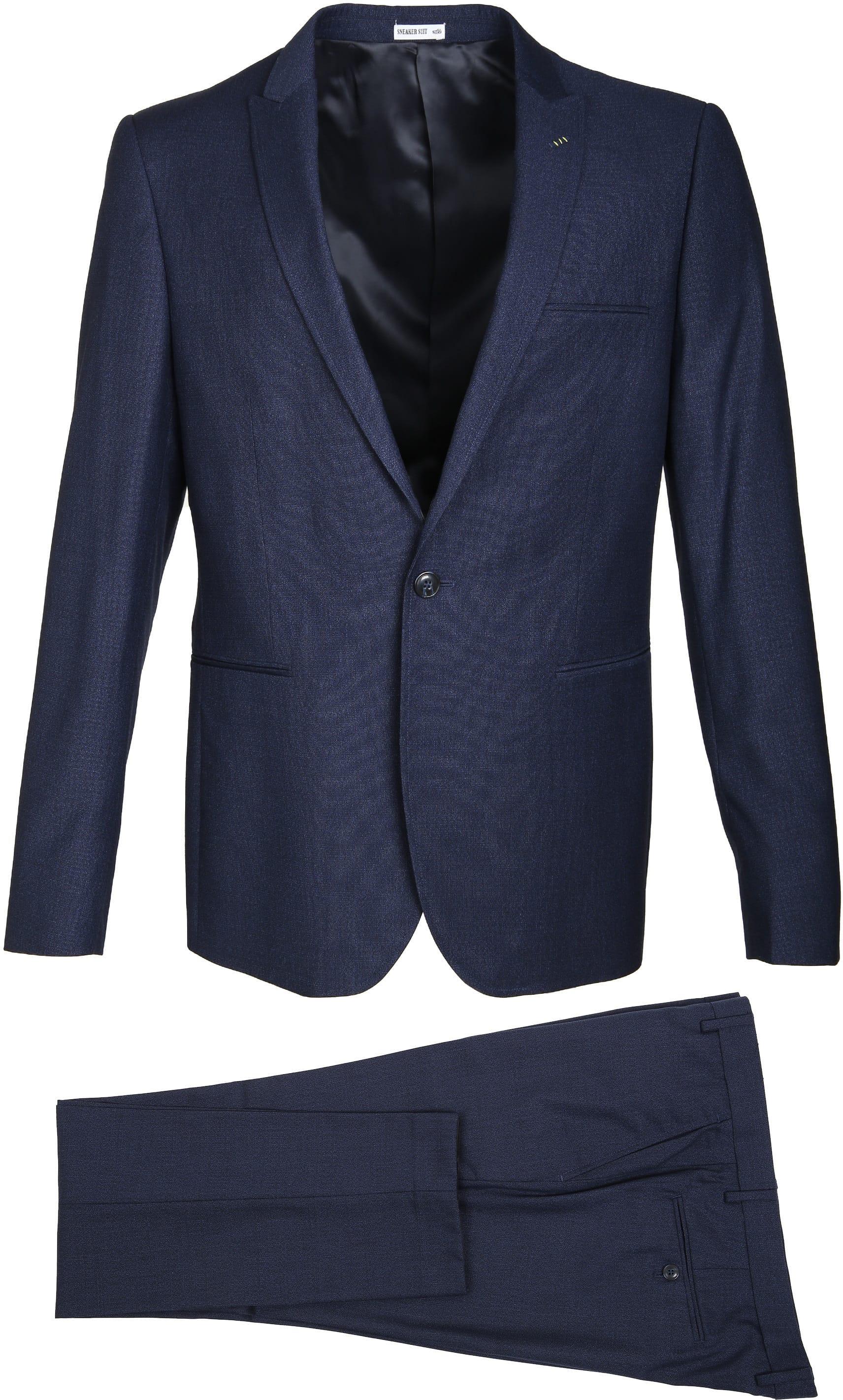 Suitable Sneaker Suit Struct Navy foto 1