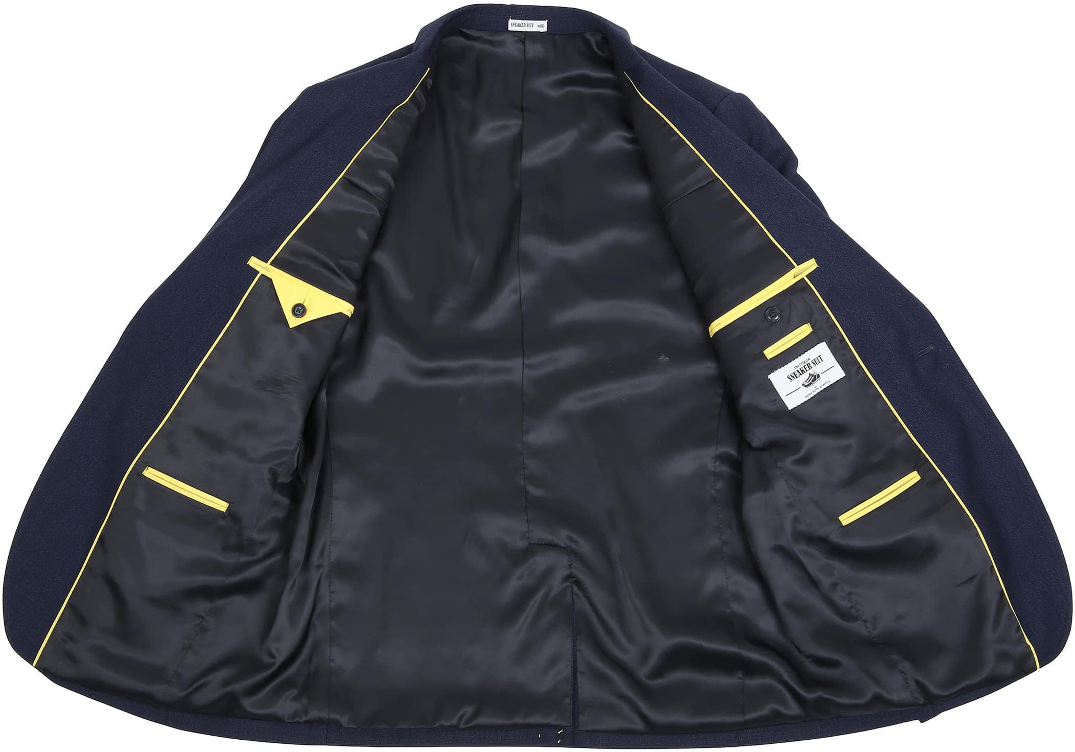 Suitable Sneaker Suit Struct Navy foto 4