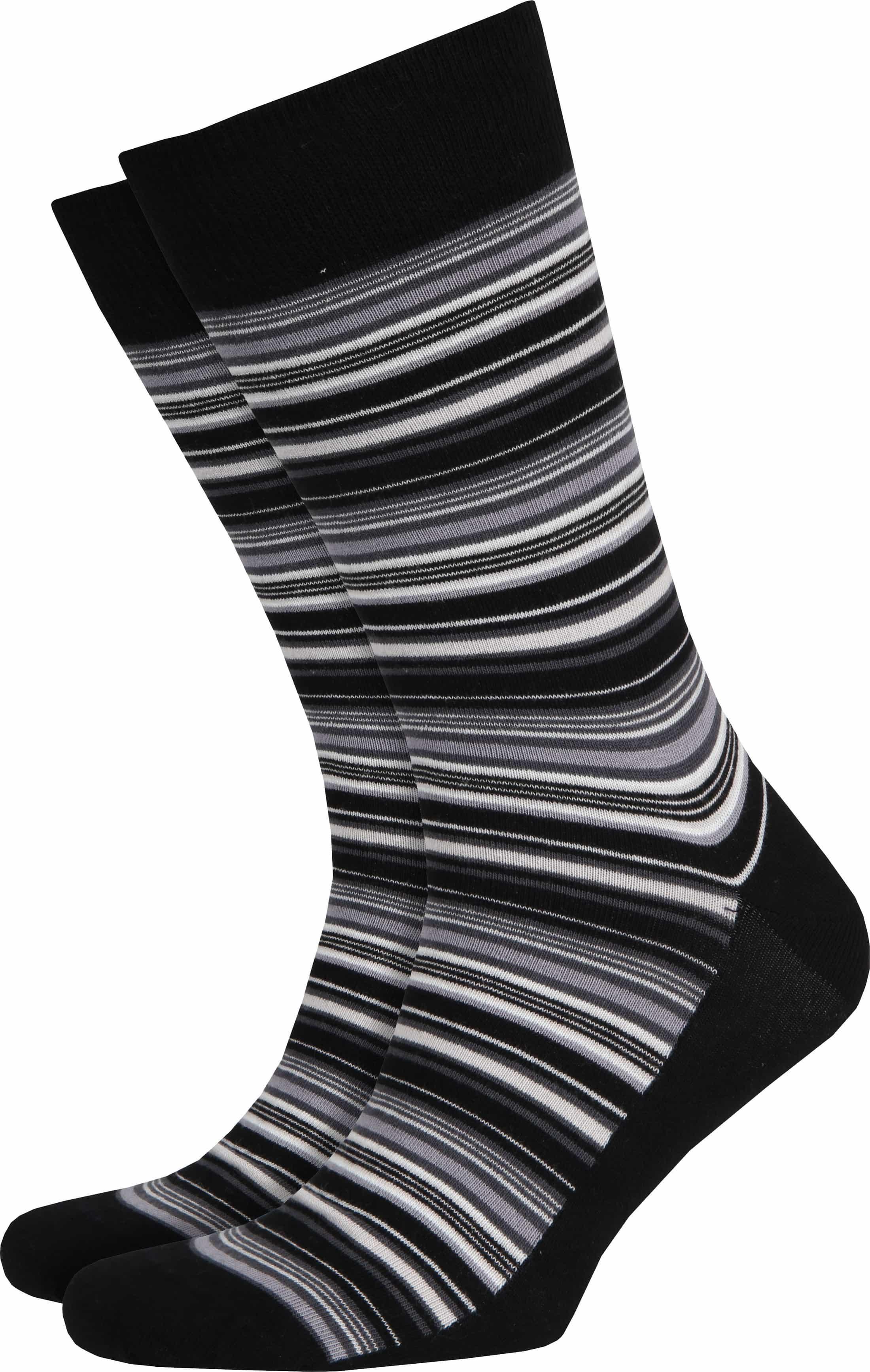 Suitable Socks Grey Stripes foto 0