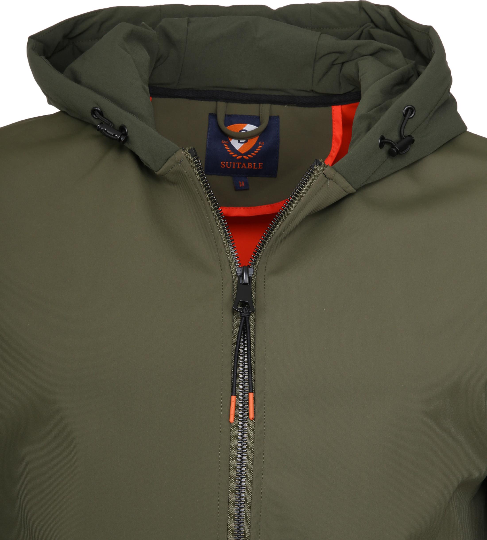 Suitable Softshell Jacke Tom Armee Foto 1