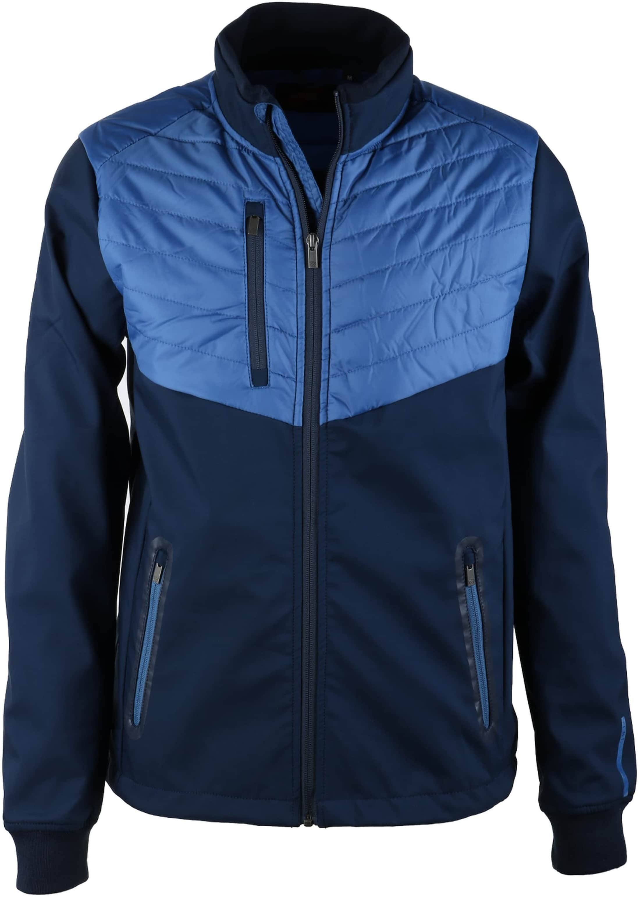 Suitable Softshell Spur Jacket Blauw foto 0