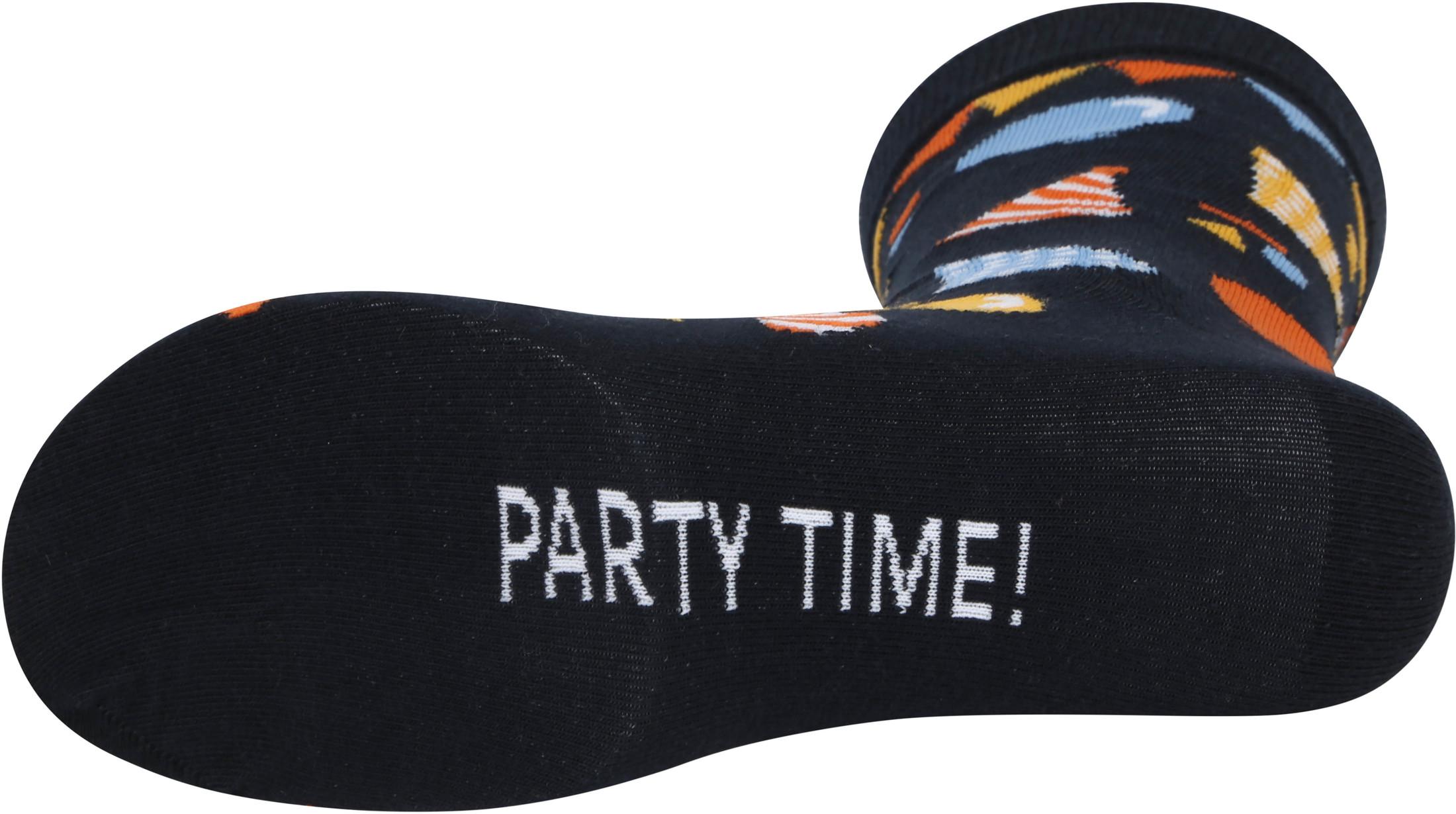Suitable Sokken Happy Birthday Multicolour