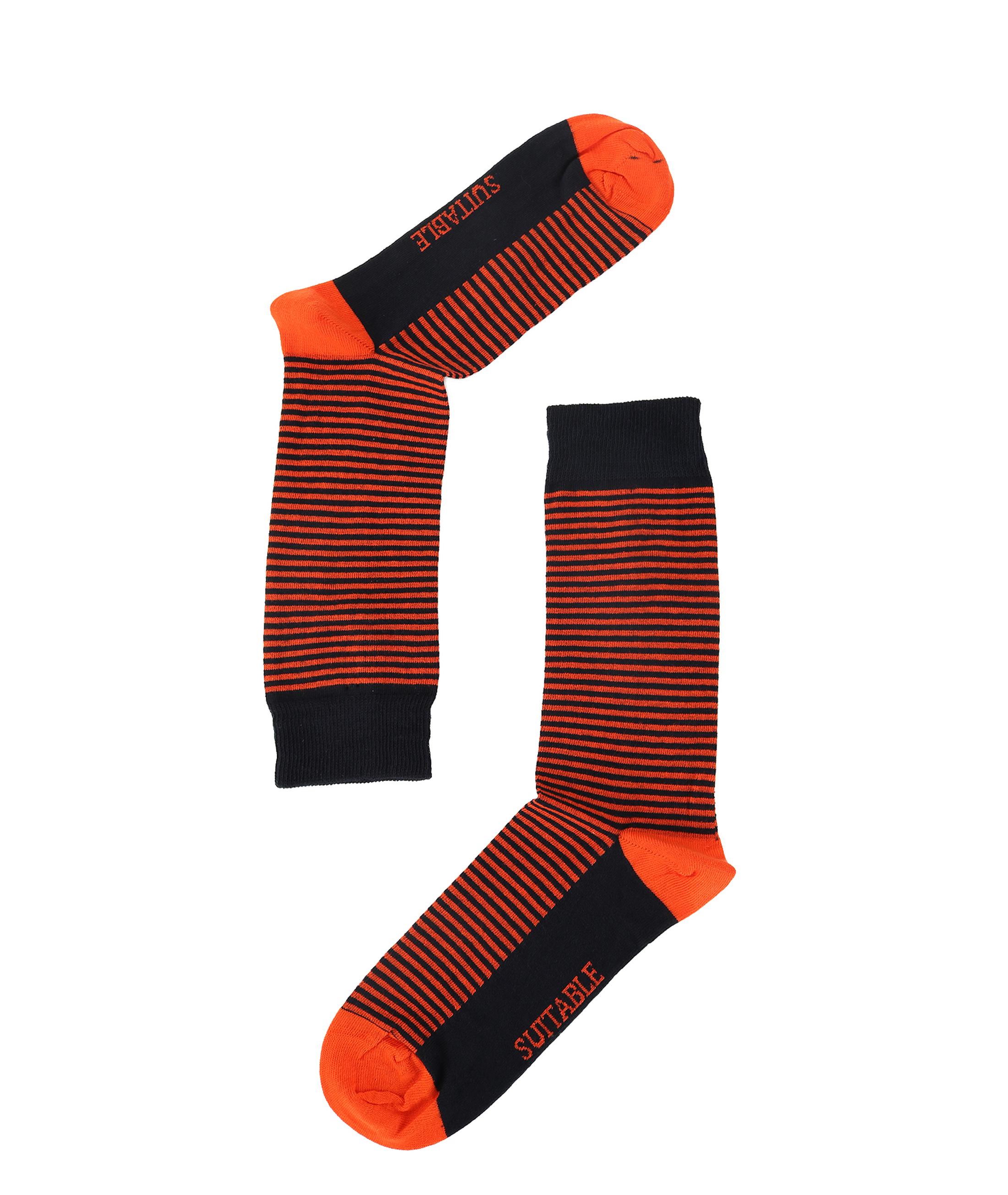 Suitable Sokken Navy/Oranje foto 1