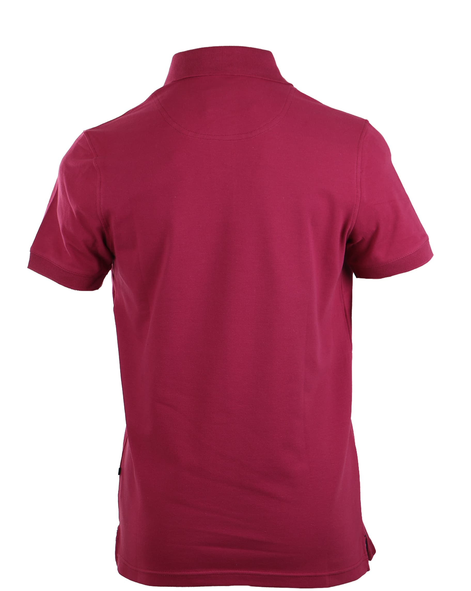 Suitable Stretch Polo Bordeaux Rood foto 3