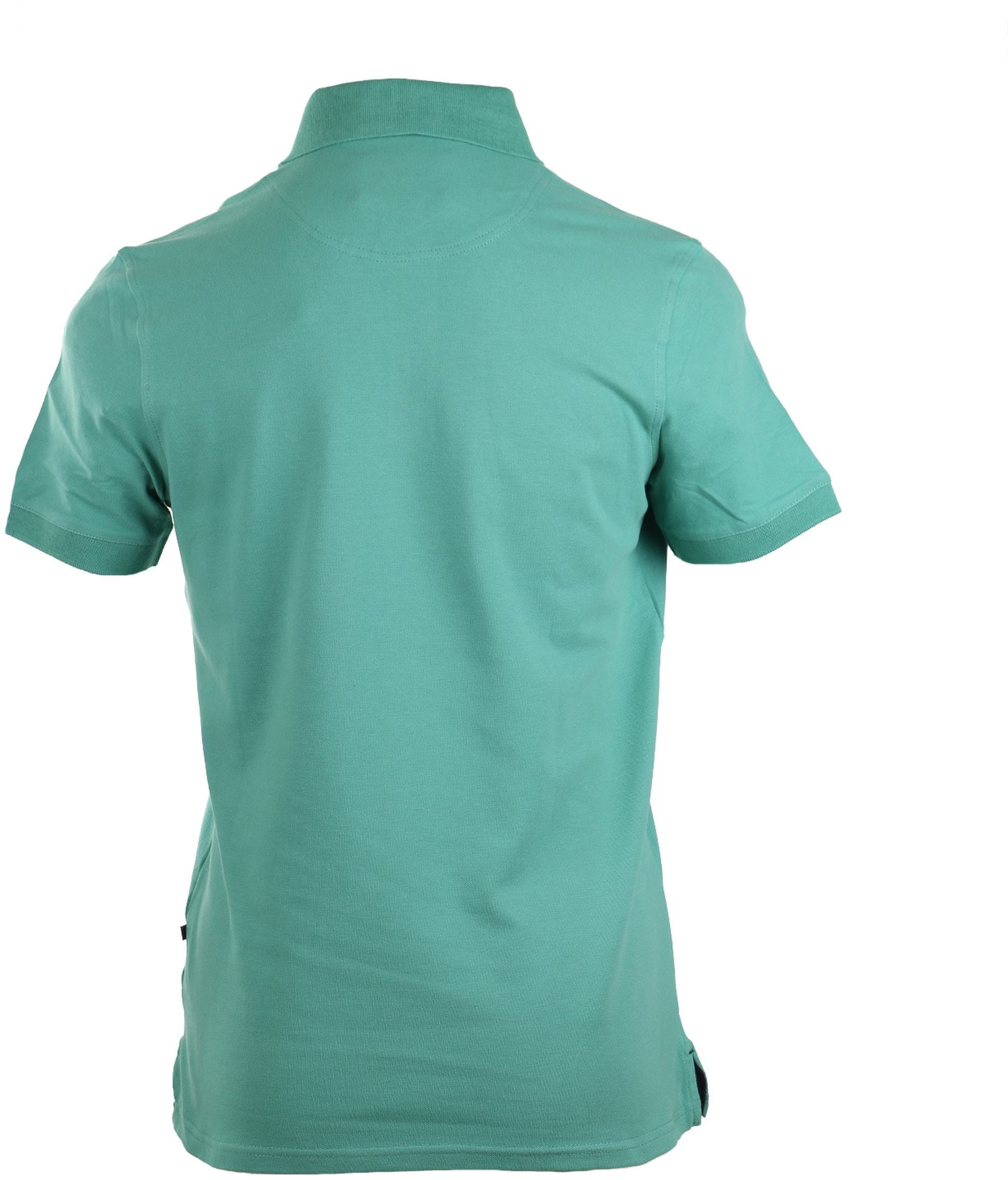 Suitable Stretch Polo Groen foto 3