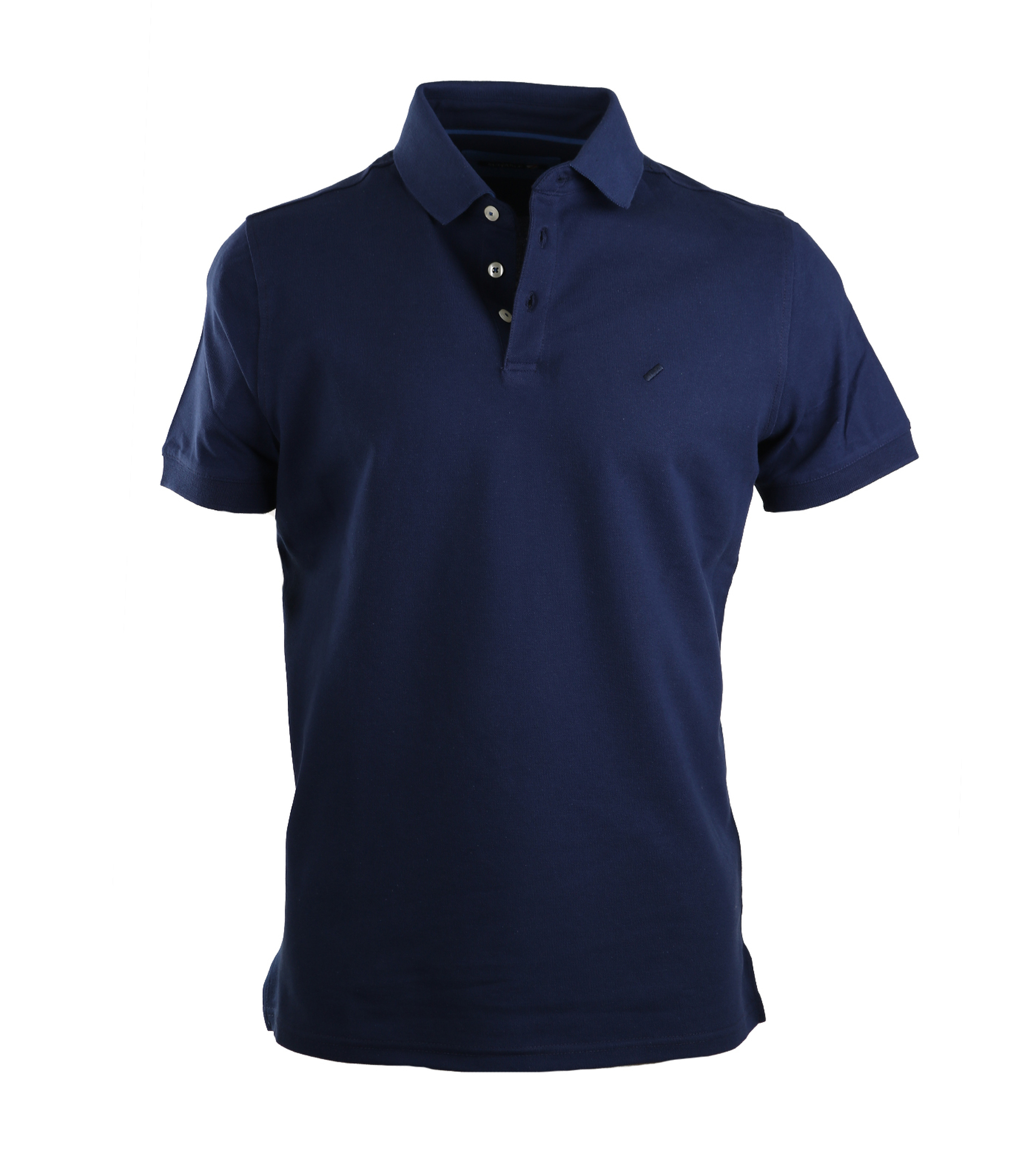Suitable Stretch Polo Navy foto 0