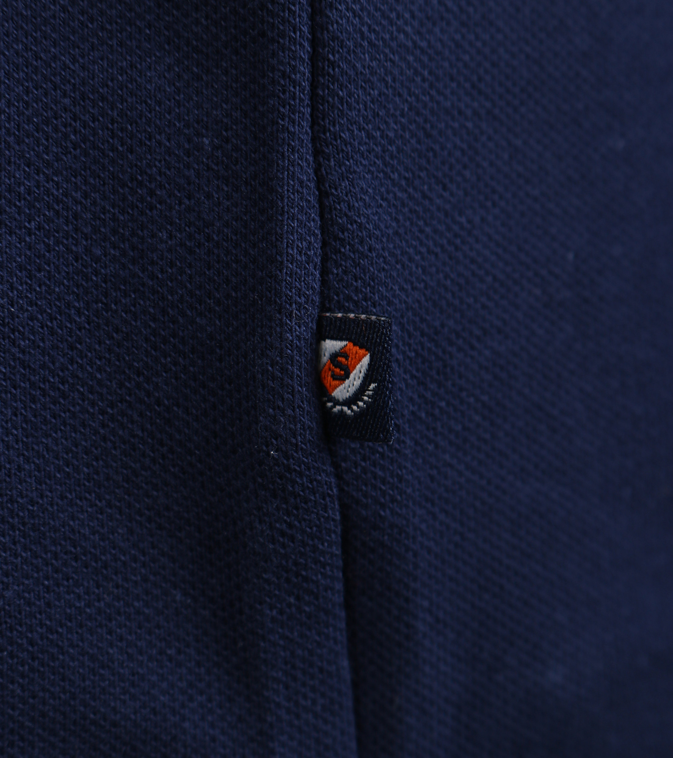 Suitable Stretch Polo Navy foto 2