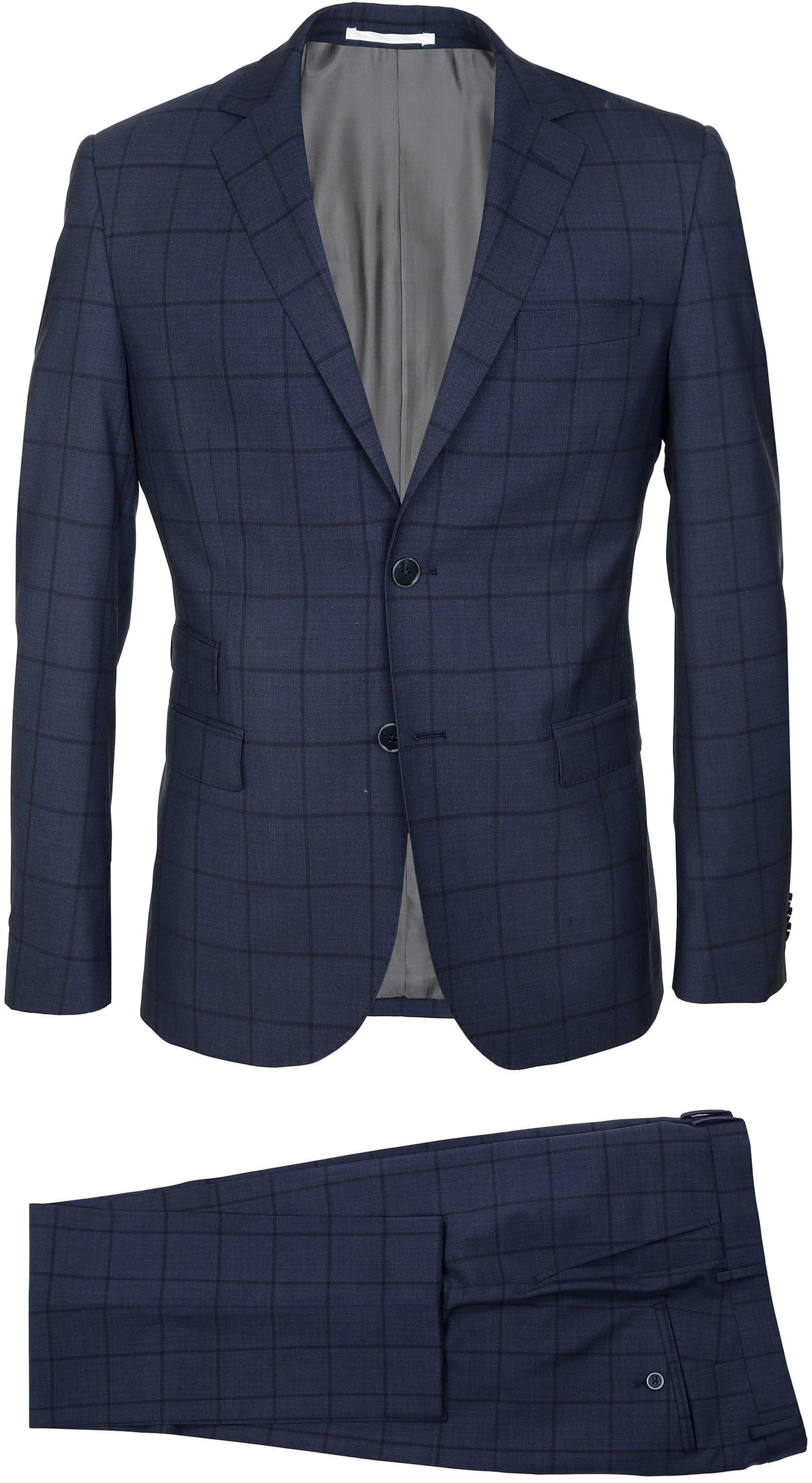 Suitable Suit Lucius Checks foto 2