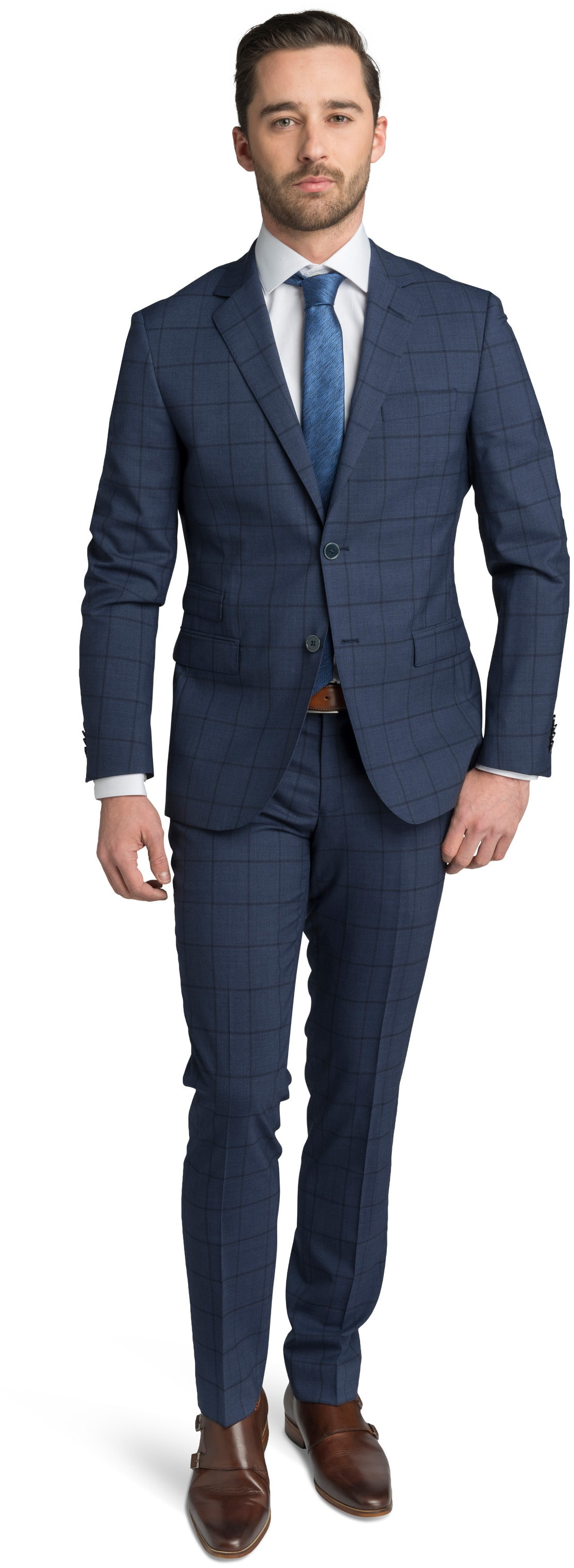 Suitable Suit Lucius Checks foto 0