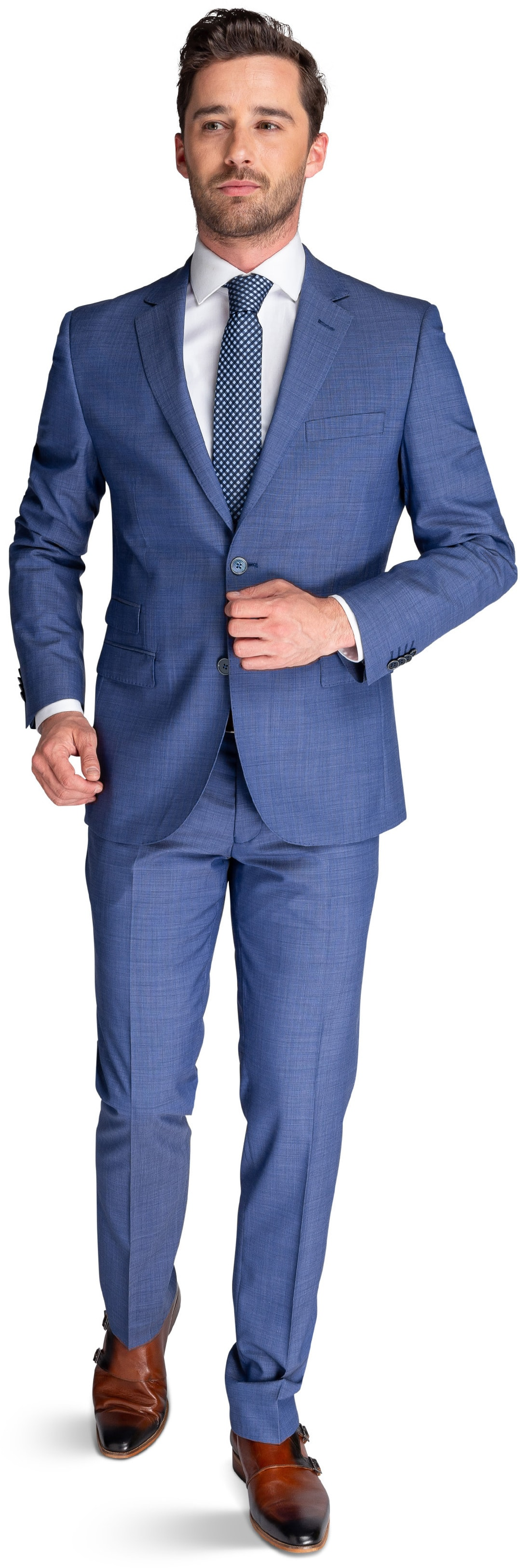 Suitable Suit Lucius Mid Blue foto 0