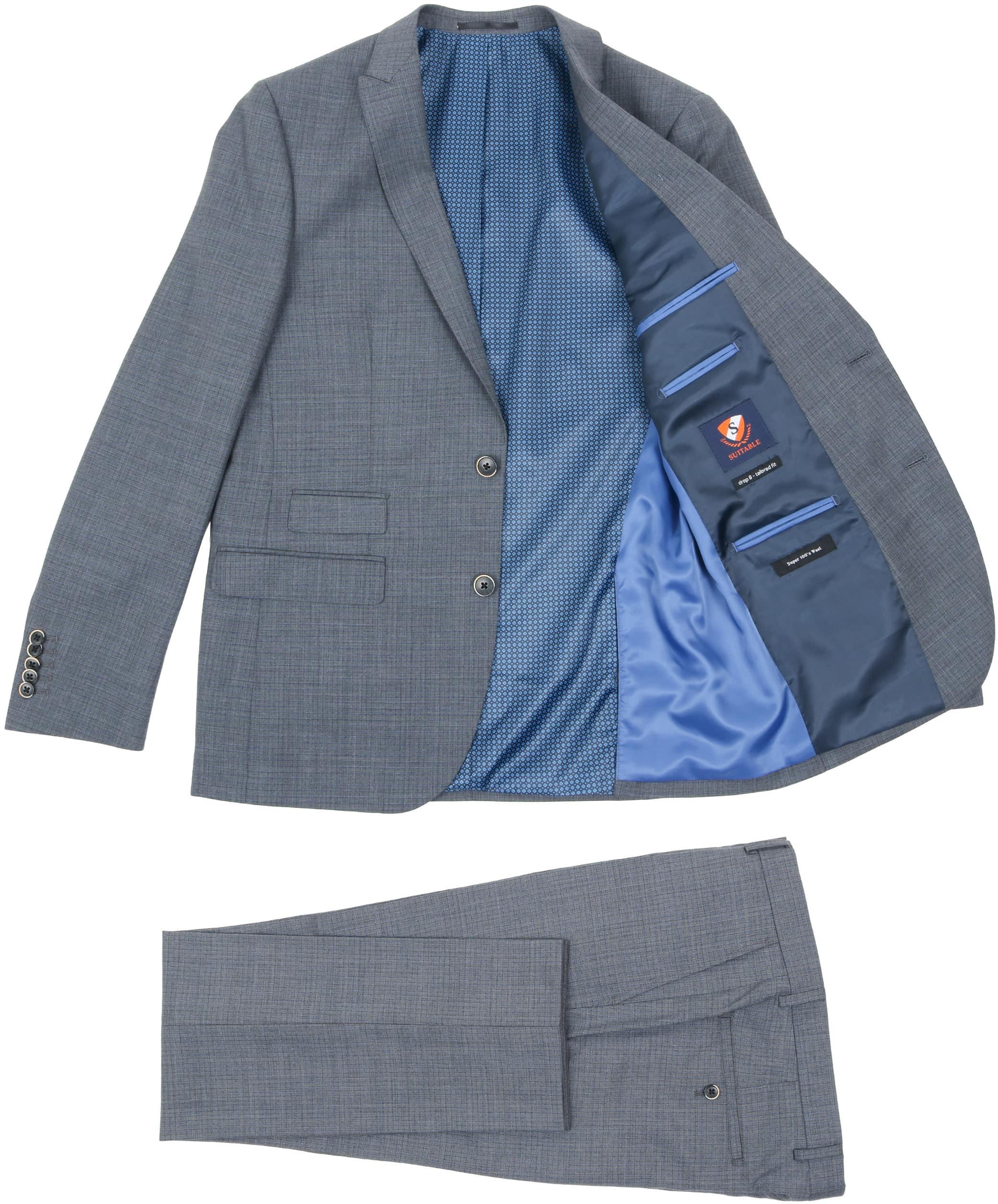 Suitable Suit Milan Dark Grey