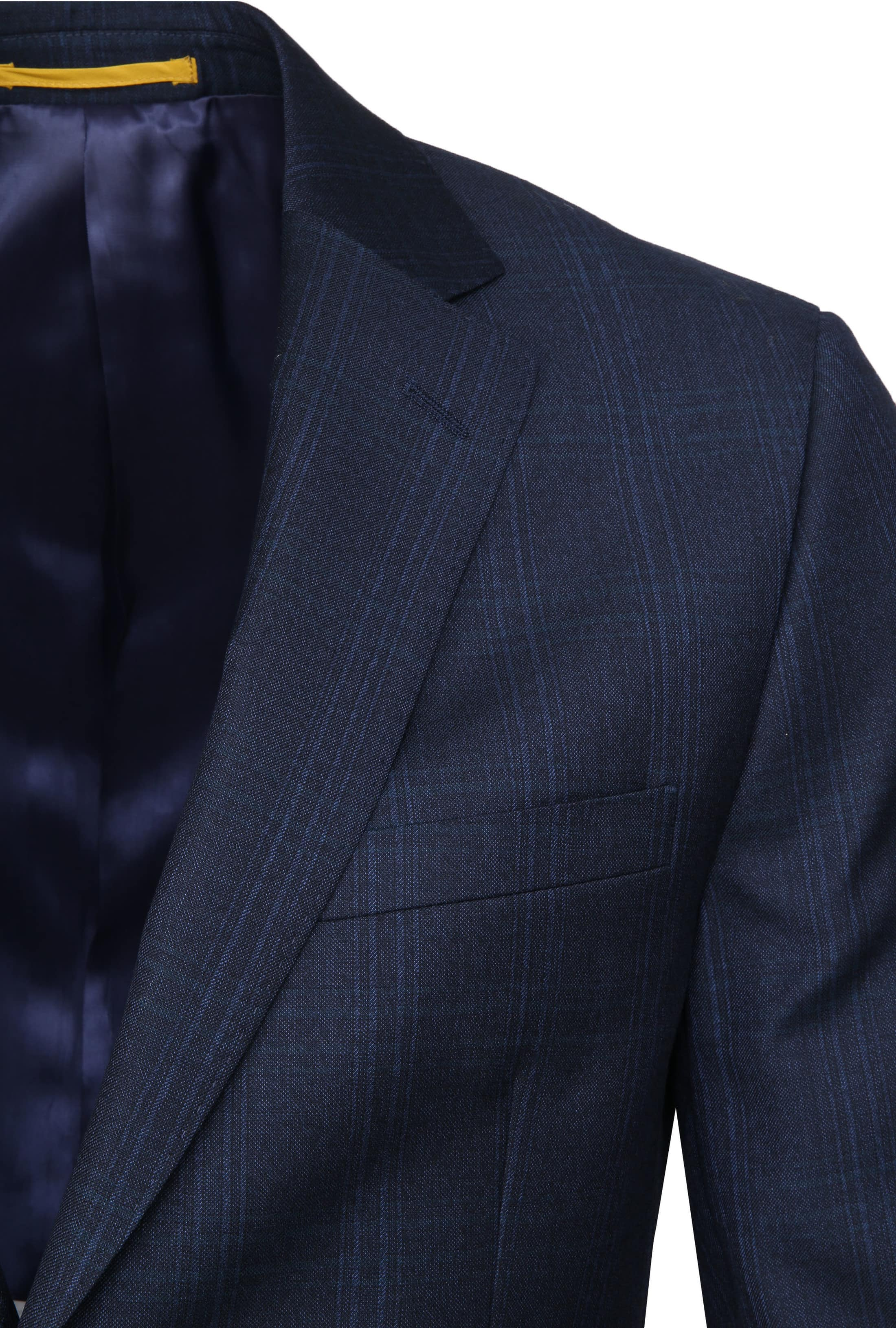 Suitable Suit Strato Navy Checks photo 3