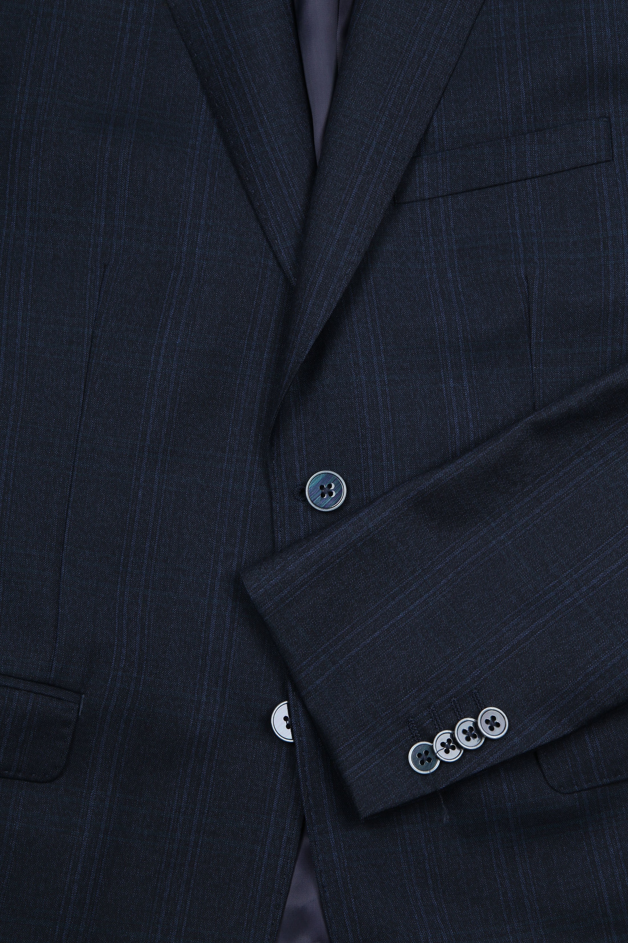 Suitable Suit Strato Navy Checks photo 5