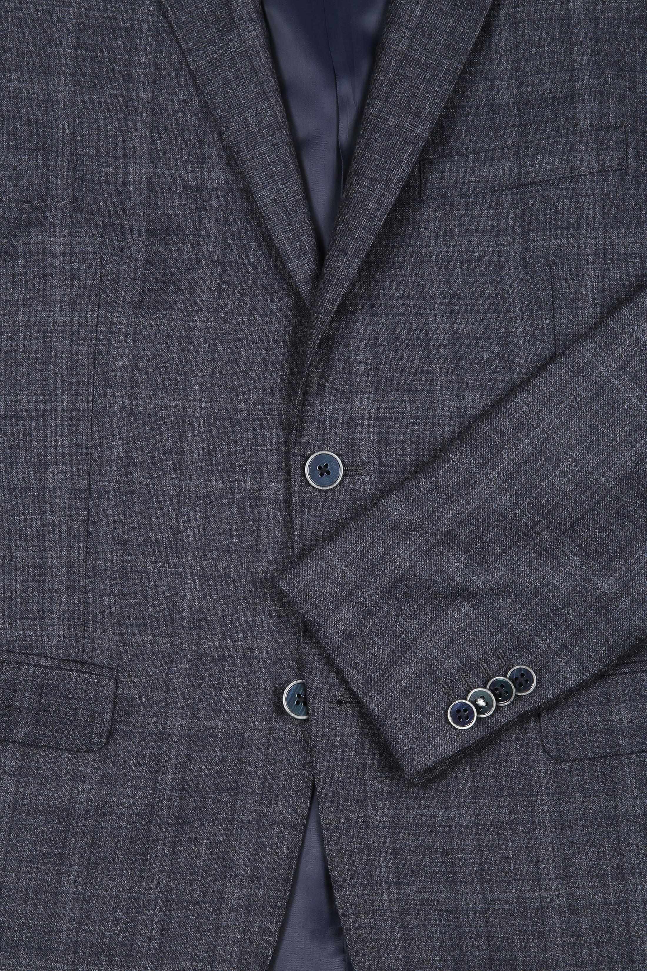 Suitable Suit Strato Windowpane Grey foto 1