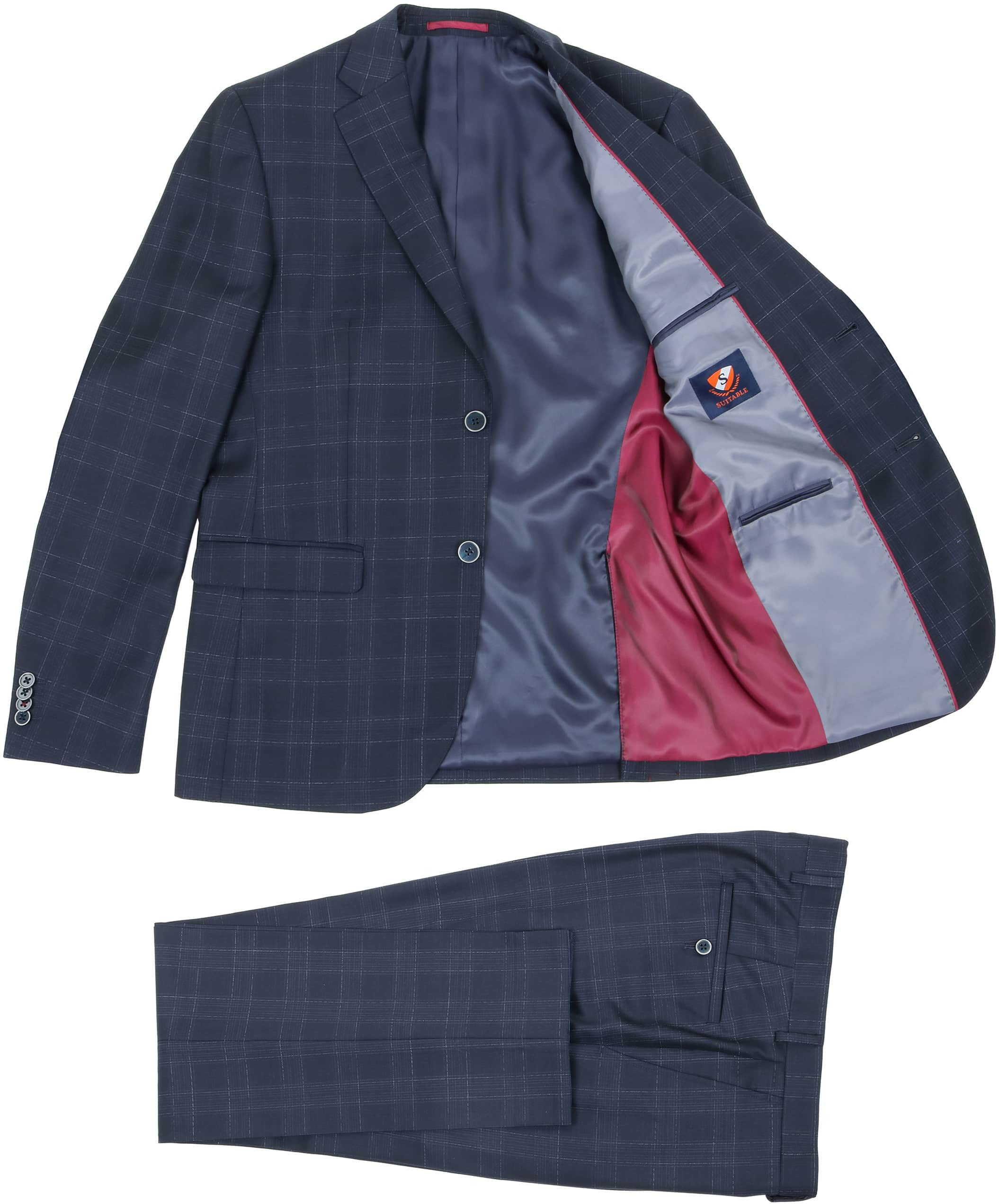 Suitable Suit Zurich Dark Blue foto 1