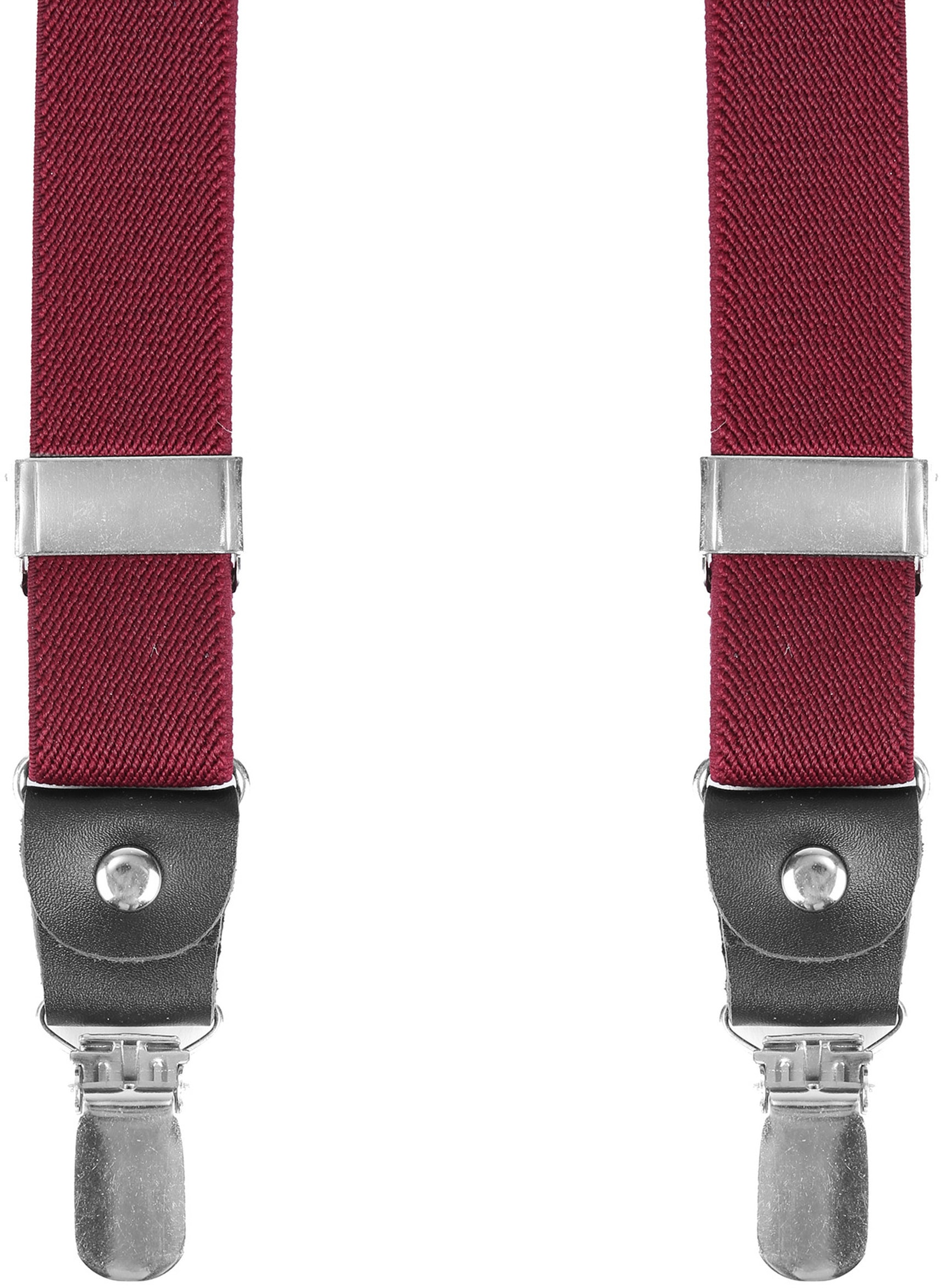Suitable Suspenders Bordeaux Red foto 0
