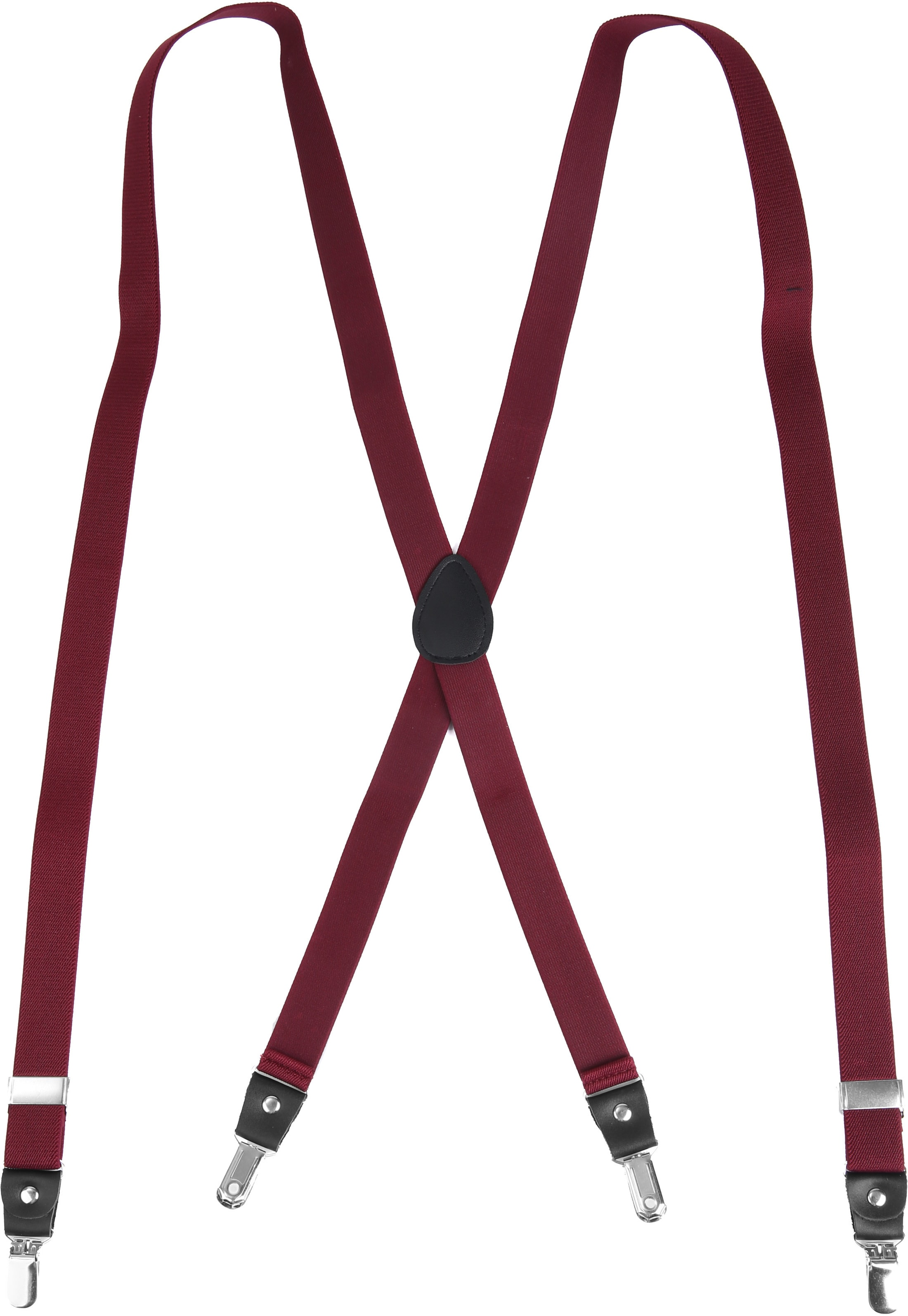 Suitable Suspenders Bordeaux Red photo 1