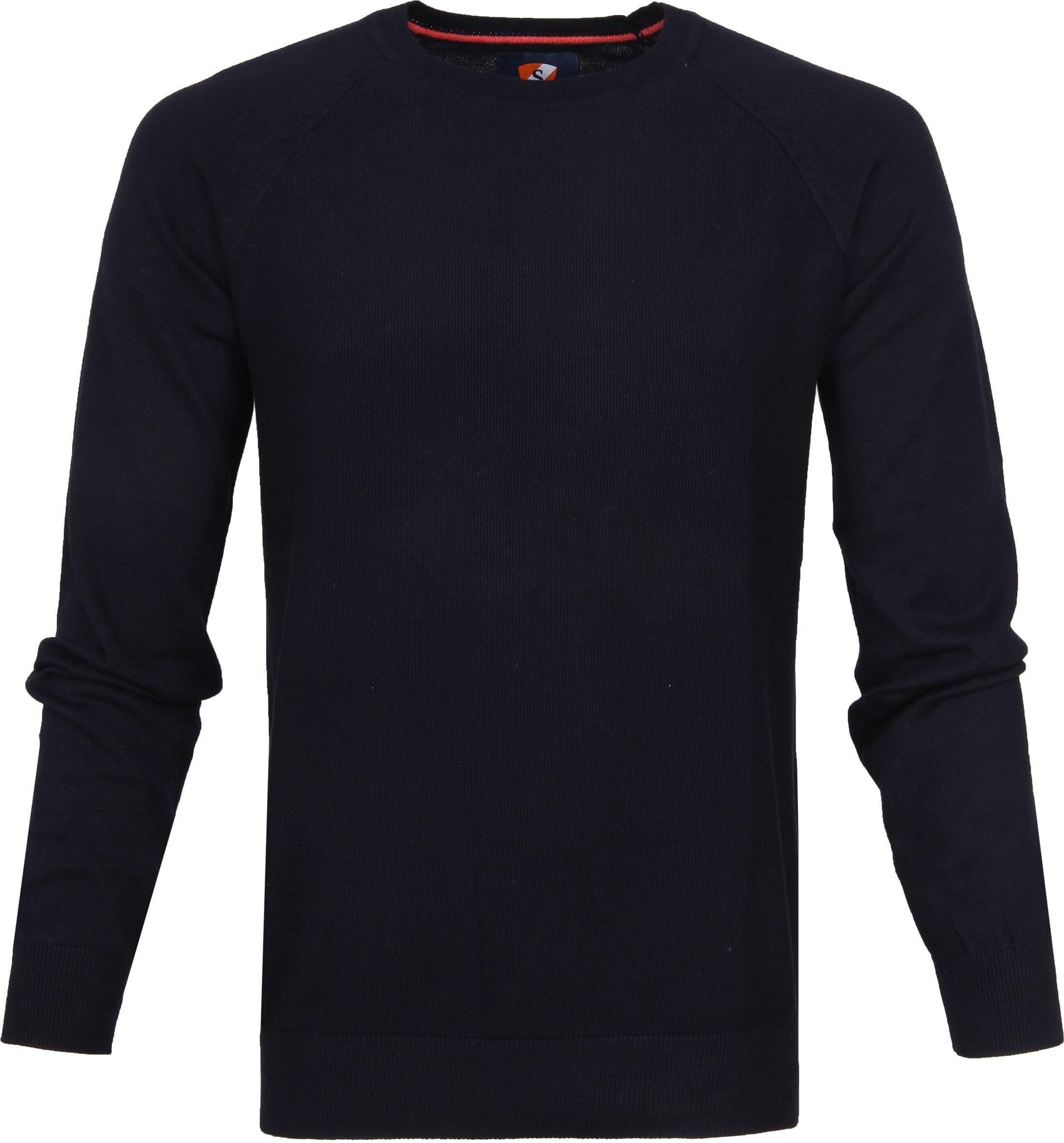 Suitable Sweater Ben Navy foto 0