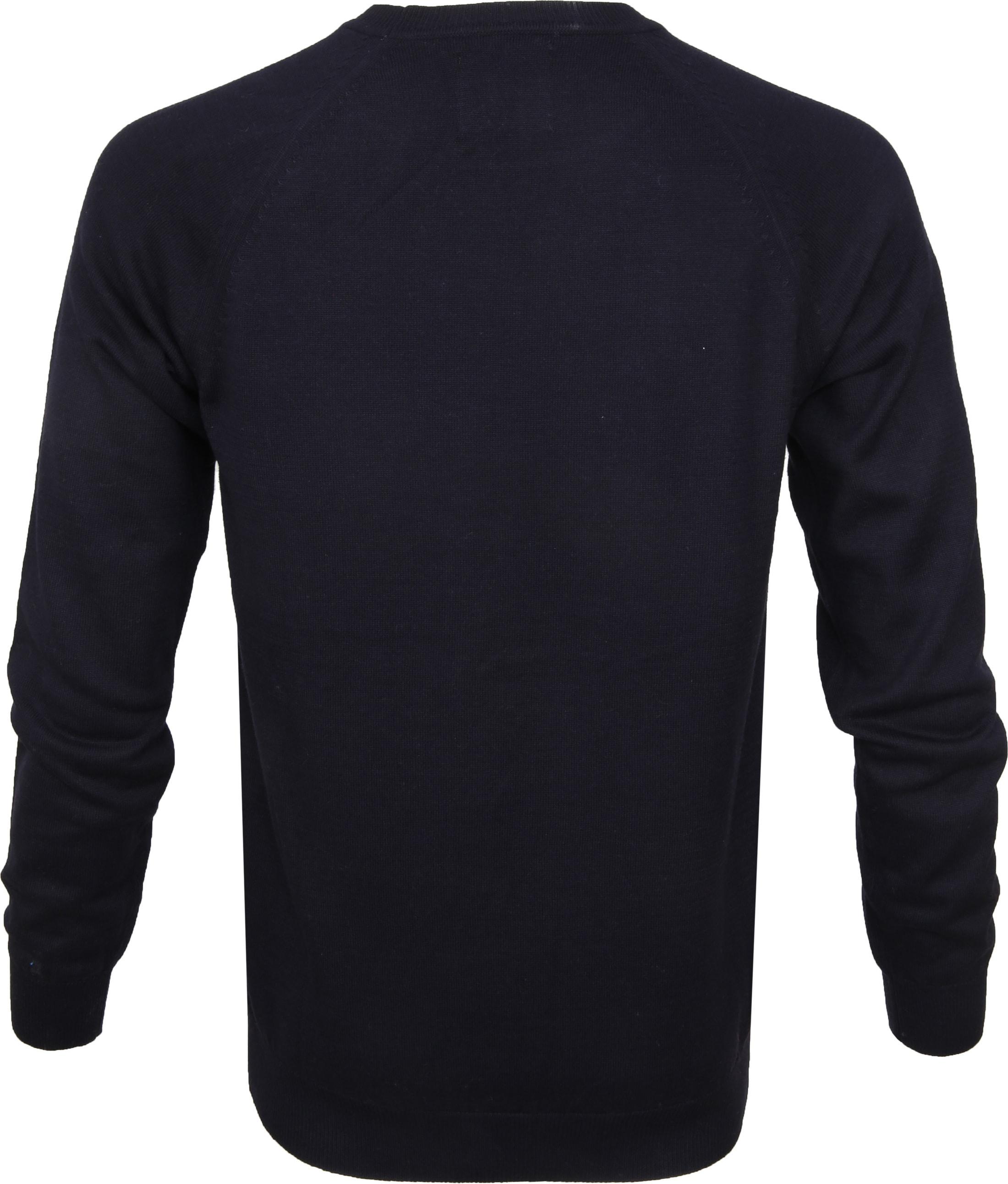 Suitable Sweater Ben Navy foto 2