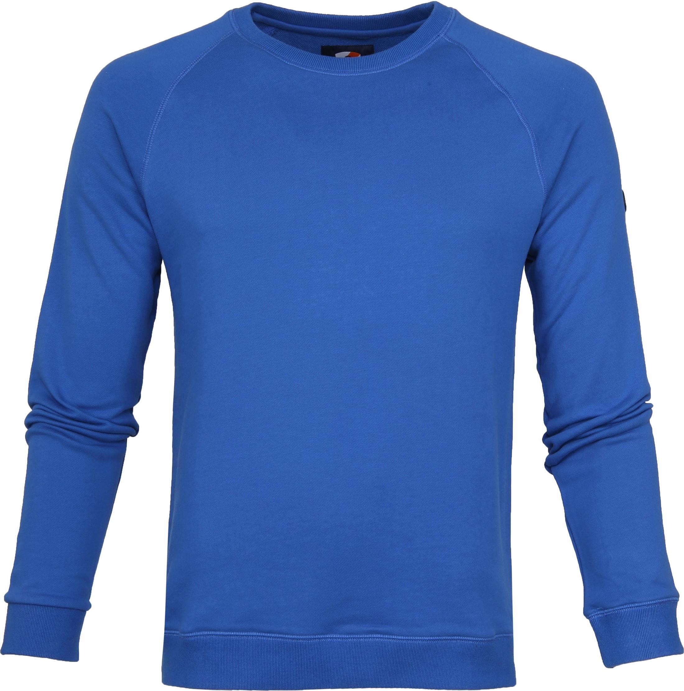 Suitable Sweater Bill Blauw foto 0