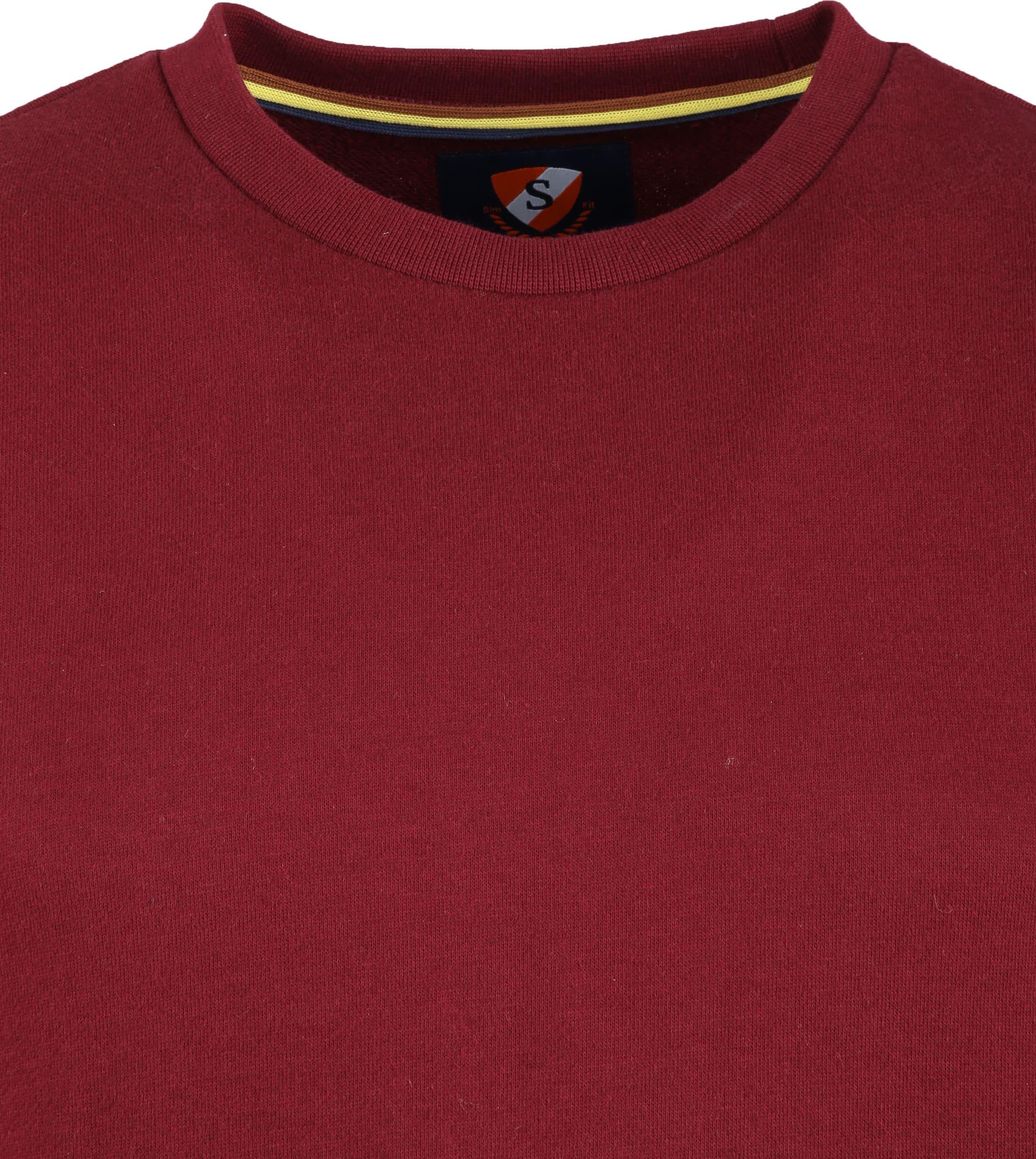 Suitable Sweater Sven Bordeaux foto 1