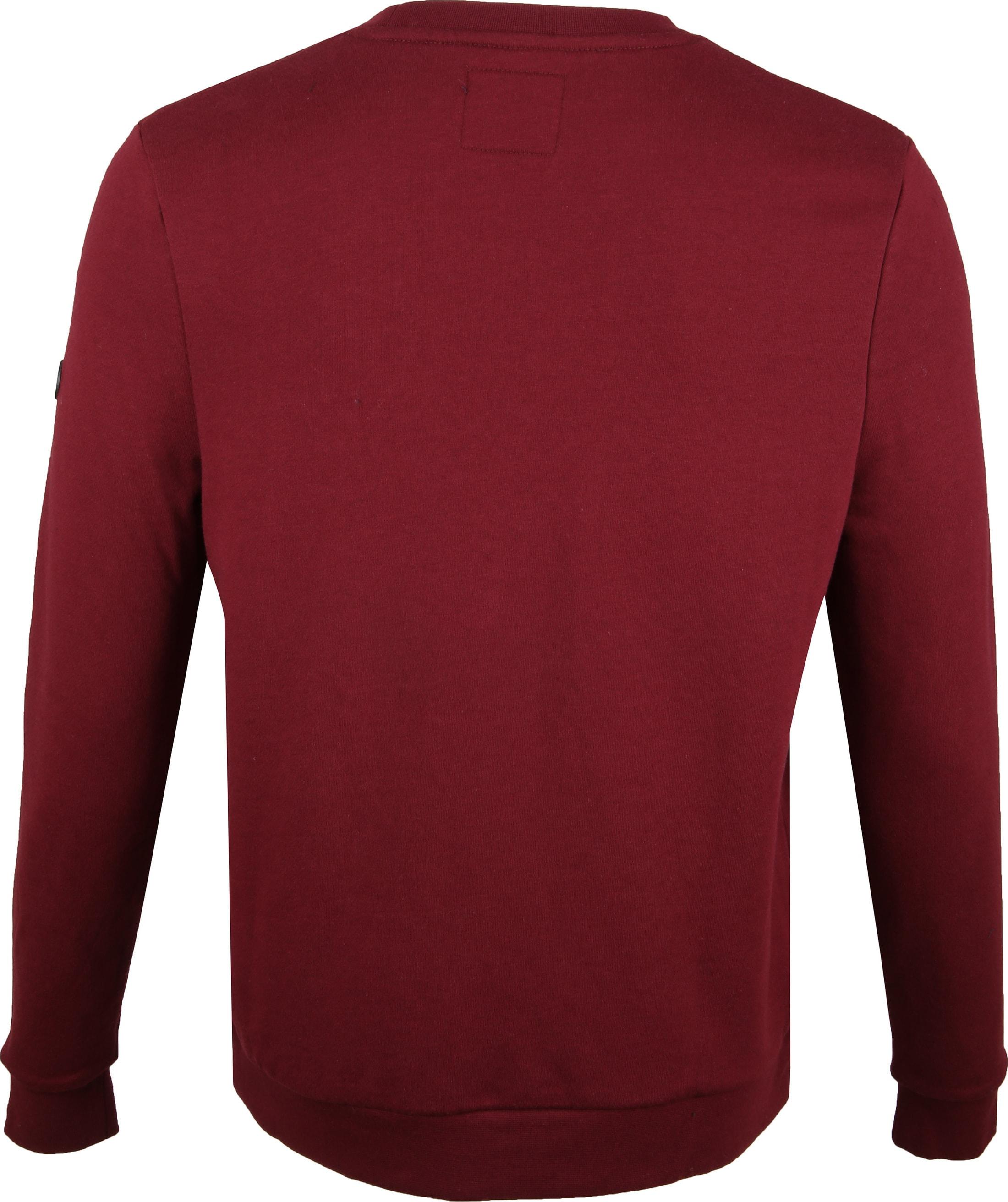 Suitable Sweater Sven Bordeaux foto 4