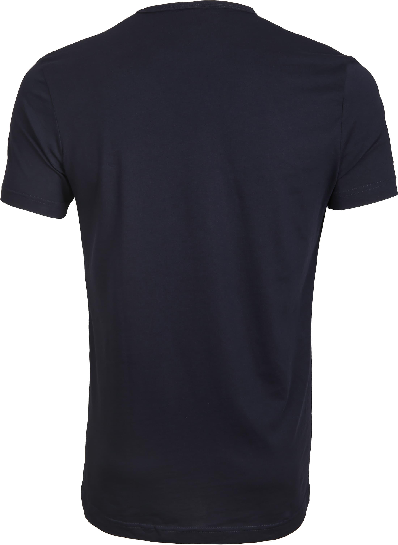 Suitable T-shirt 2-Pack O-Ausschnitt Dunkelblau foto 2
