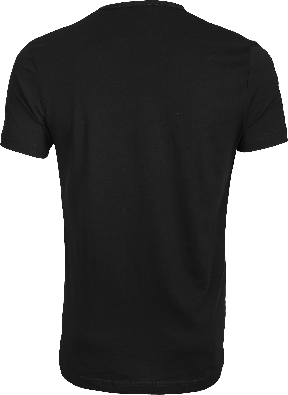 Suitable T-shirt 2-Pack O-Ausschnitt Schwarz foto 2