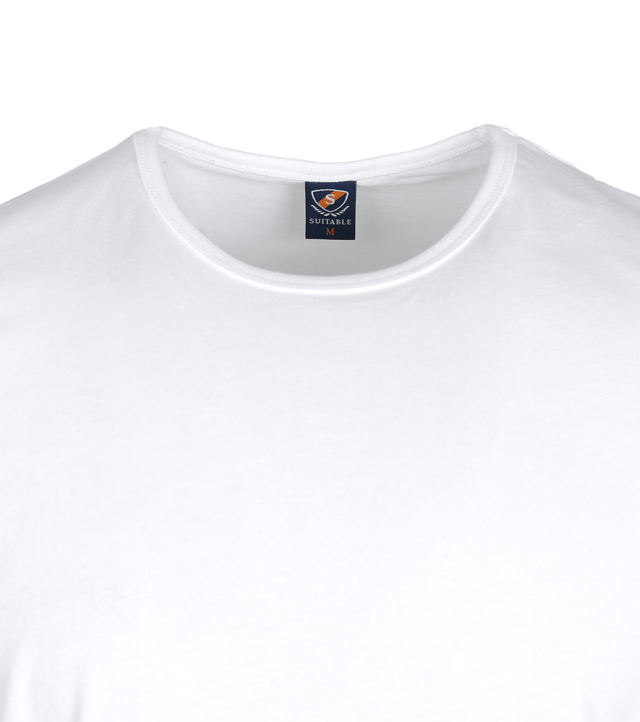 Suitable T-shirt 2-Pack O-Neck White foto 1