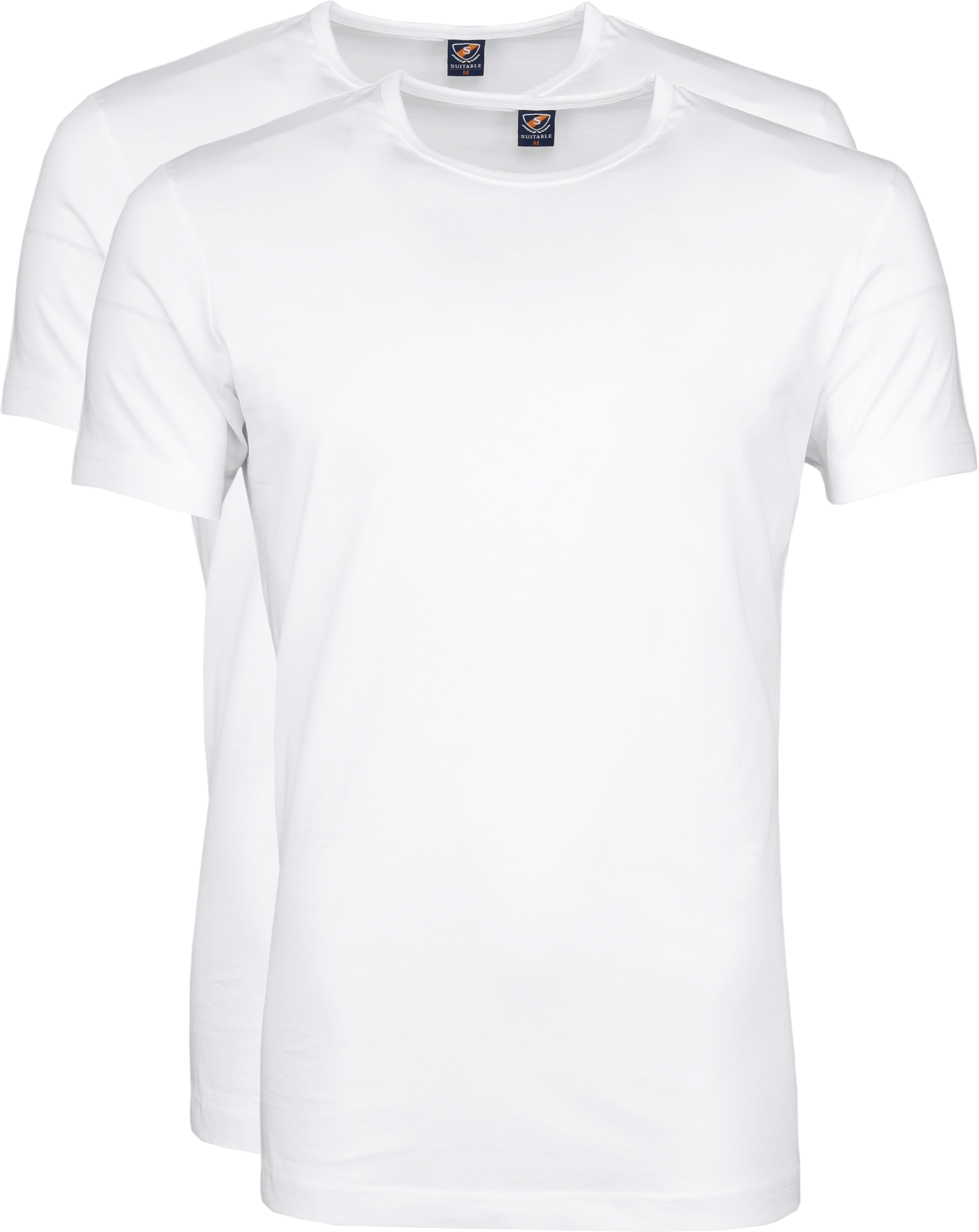 Suitable T-shirt 2-Pack O-Neck White foto 0