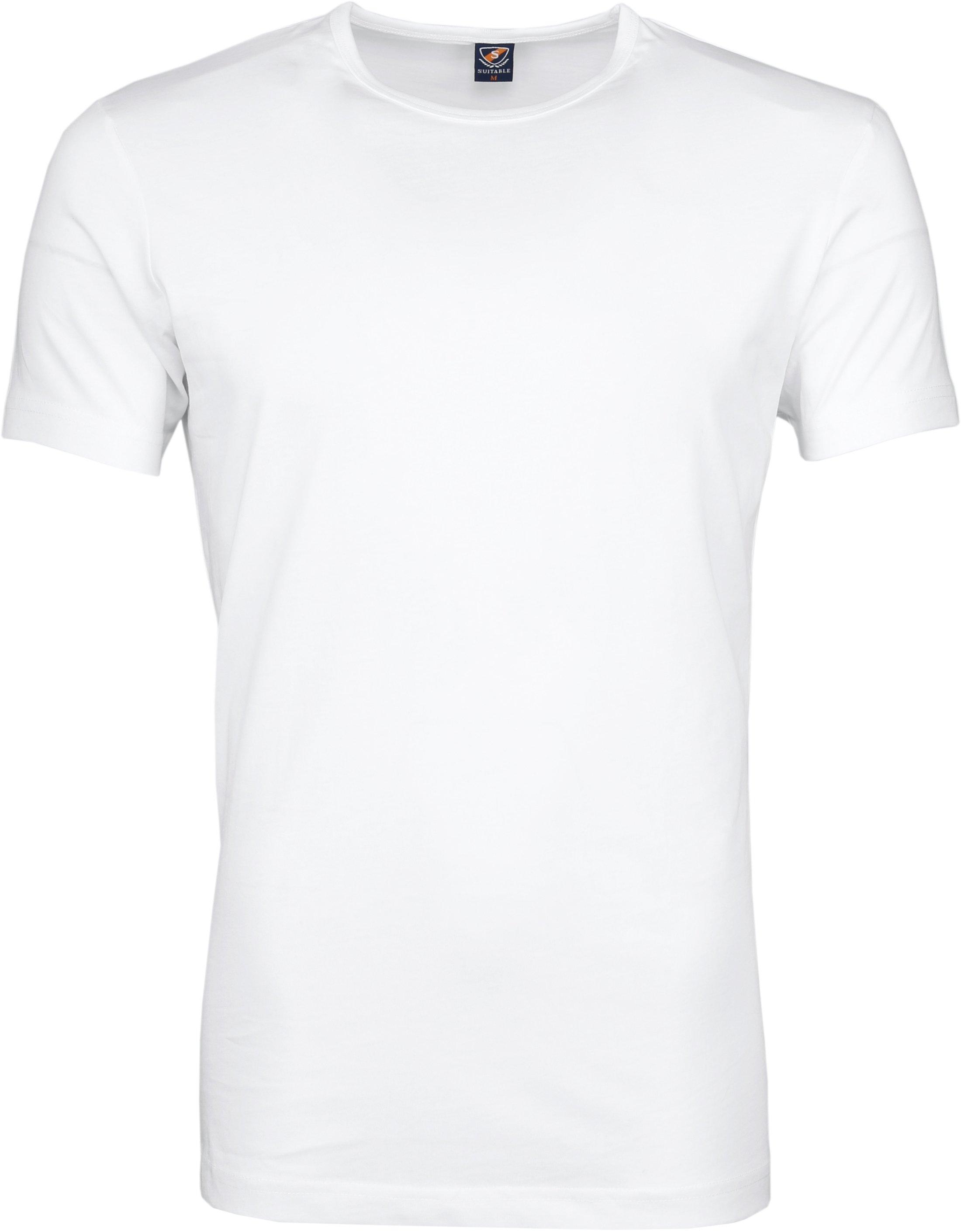 Suitable T-shirt 2-Pack O-Neck Wit foto 2