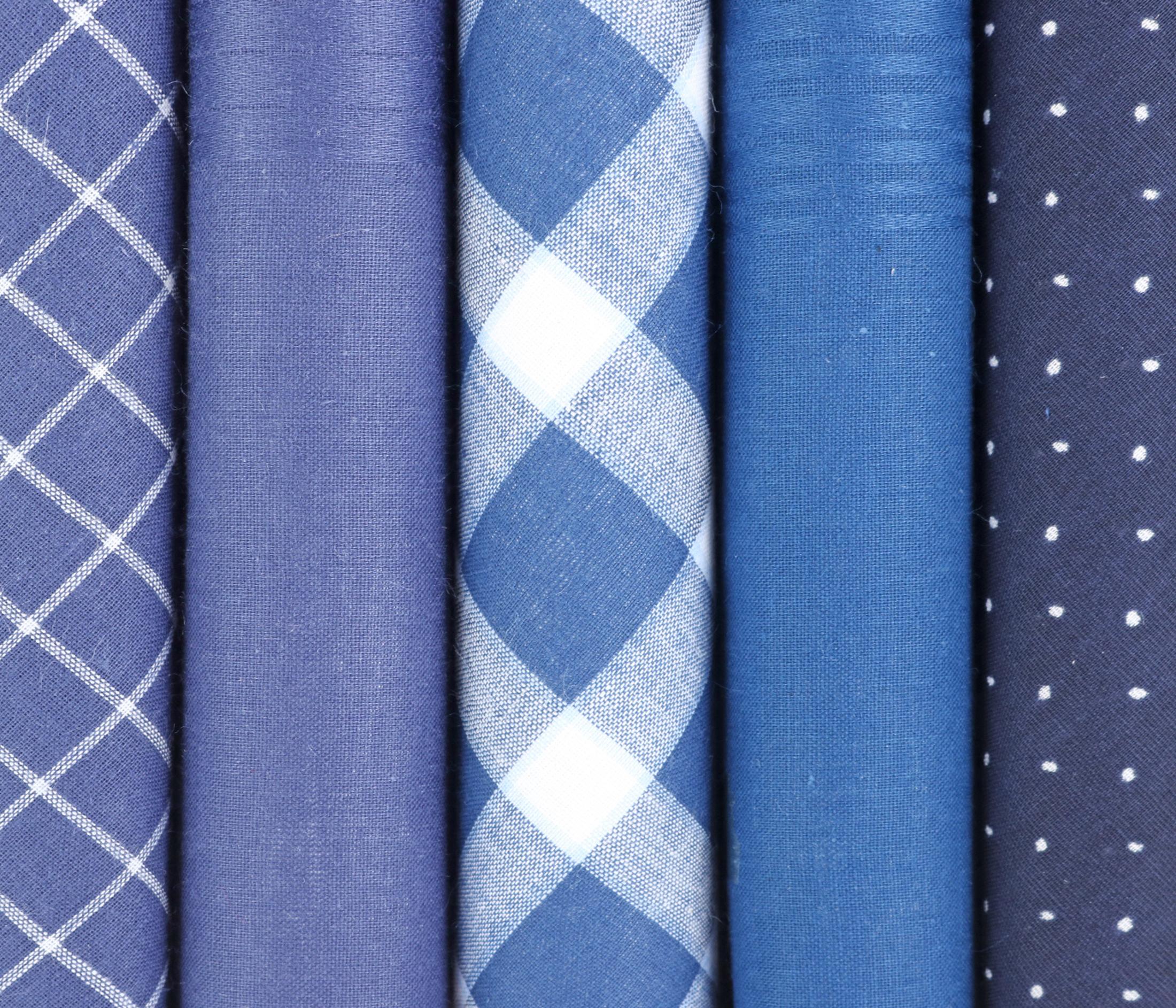 Suitable Taschentücher Blau foto 1