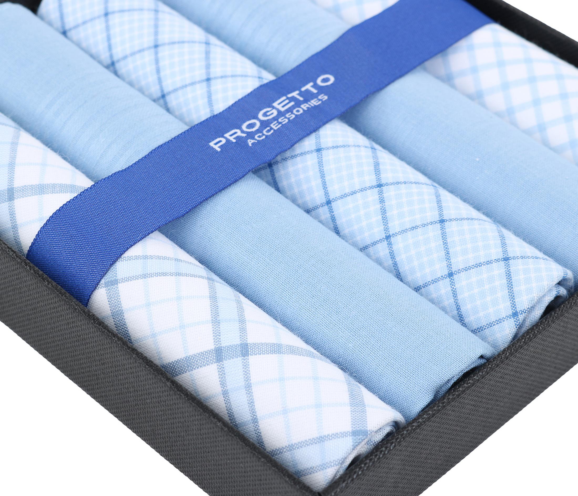 Suitable Taschentücher Blau Kariert foto 1