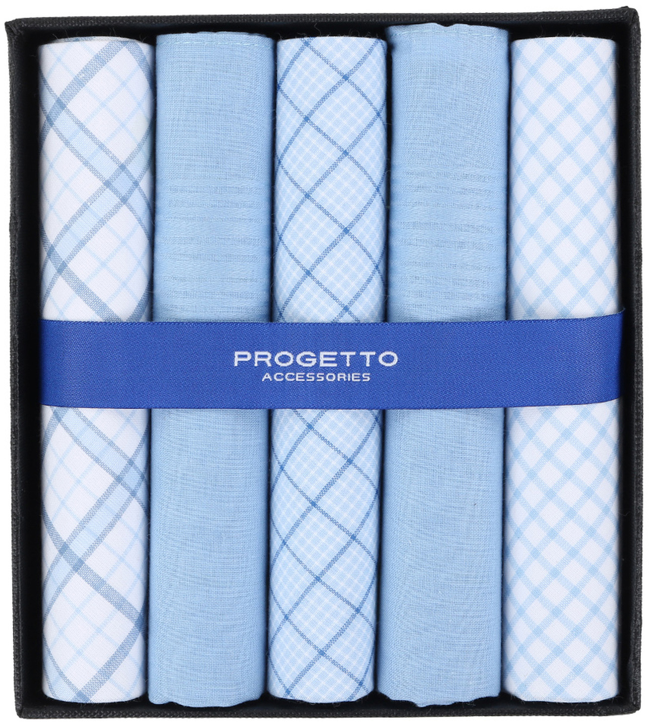 Suitable Taschentücher Blau Kariert Foto 0