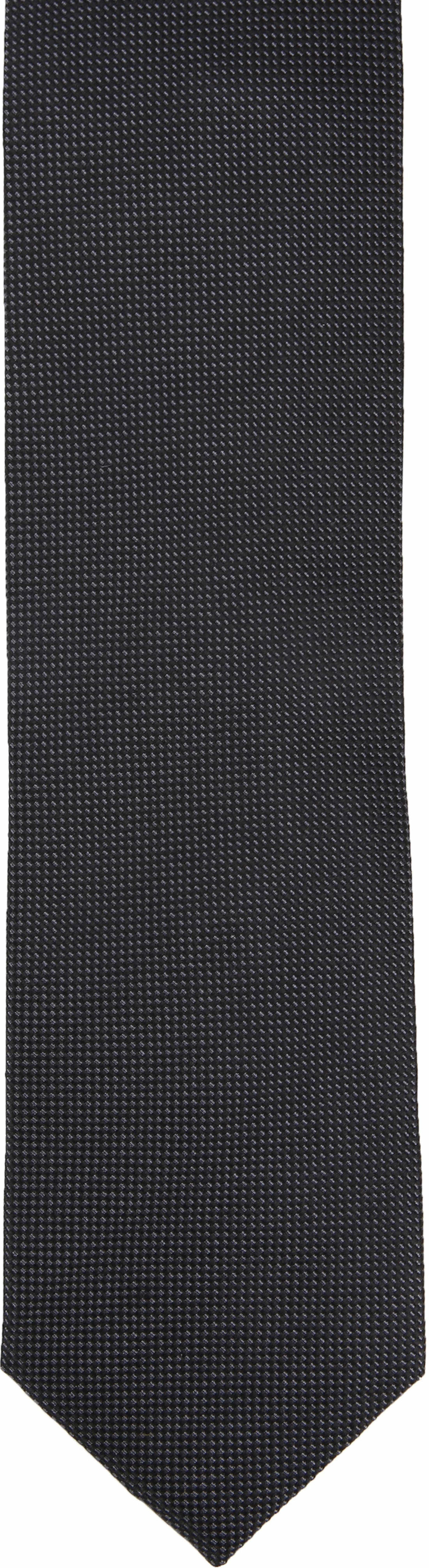 Suitable Tie Silk Black 10 foto 1