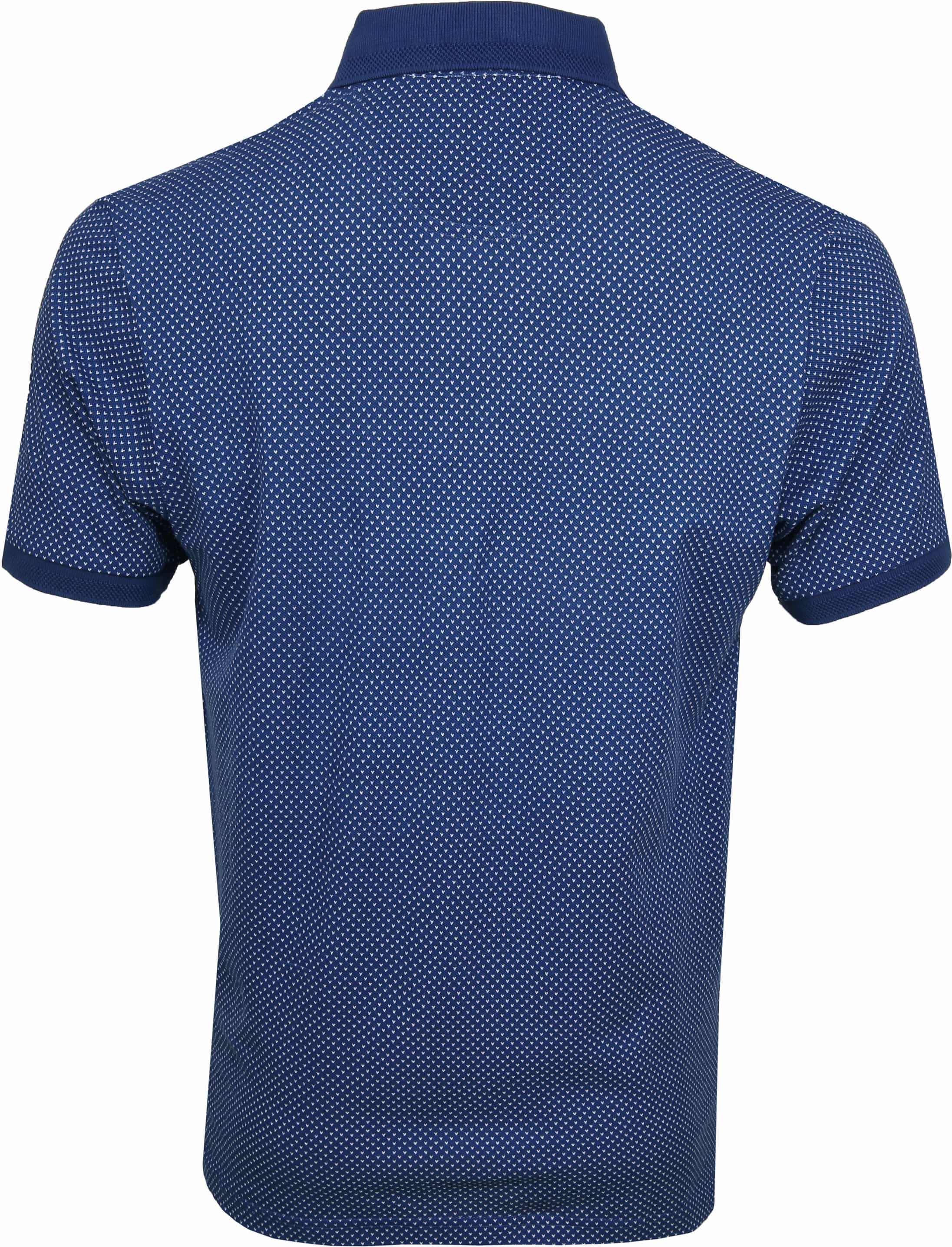Suitable Till Poloshirt Dessin Blue foto 3