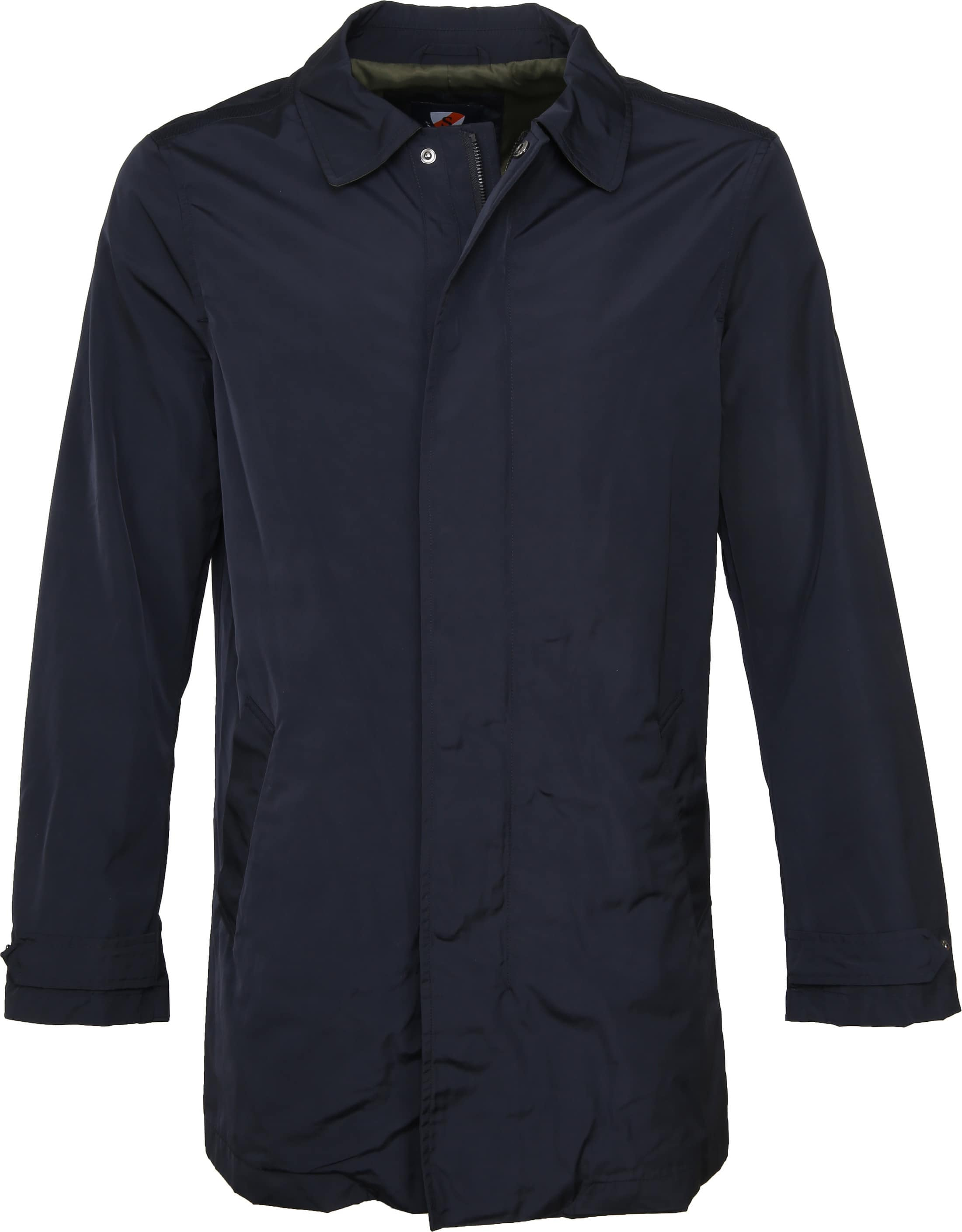 Suitable Trench Coat Navy foto 0