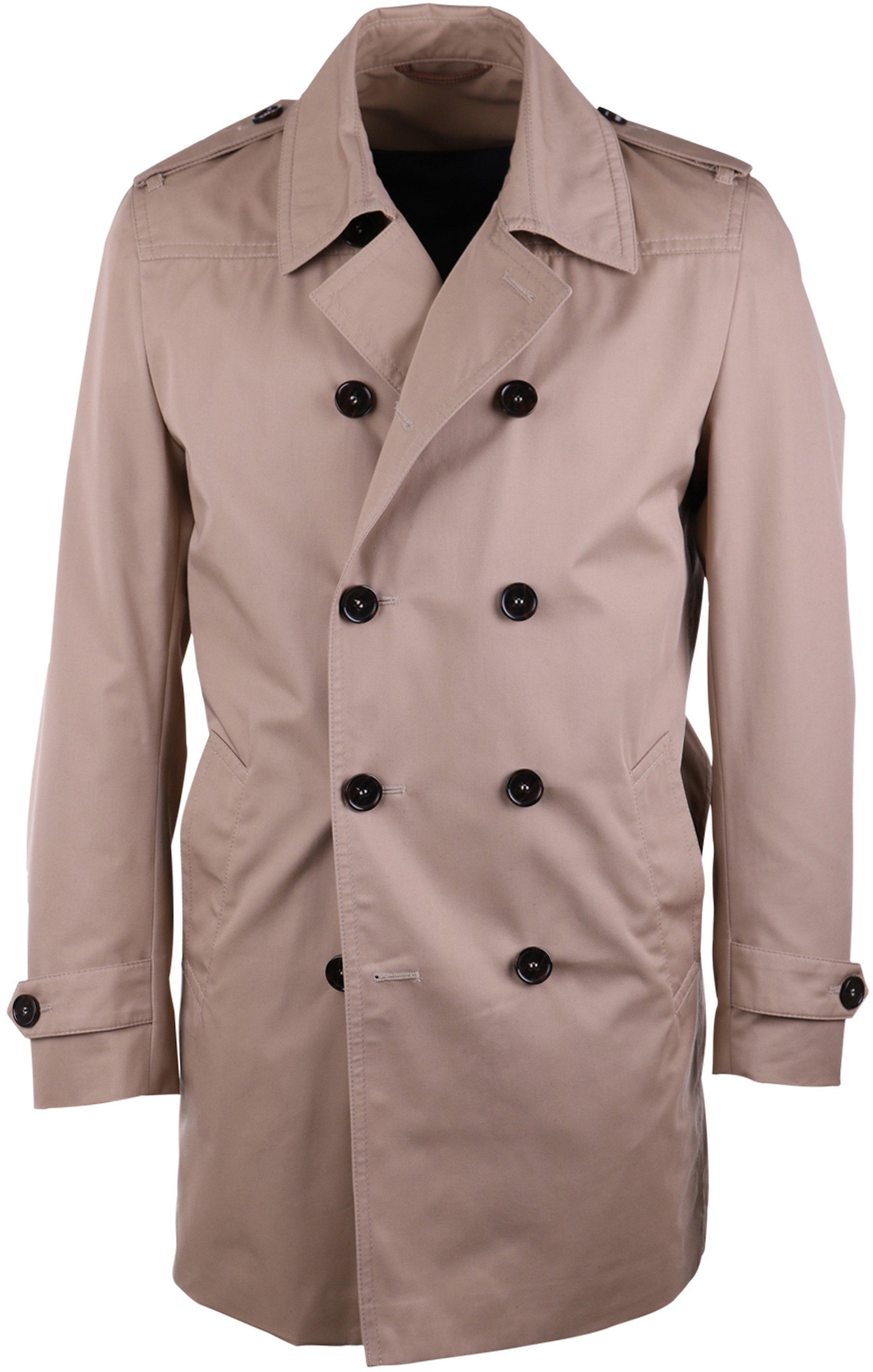 Suitable Trenchcoat Sommer Jacke Khaki Zavier