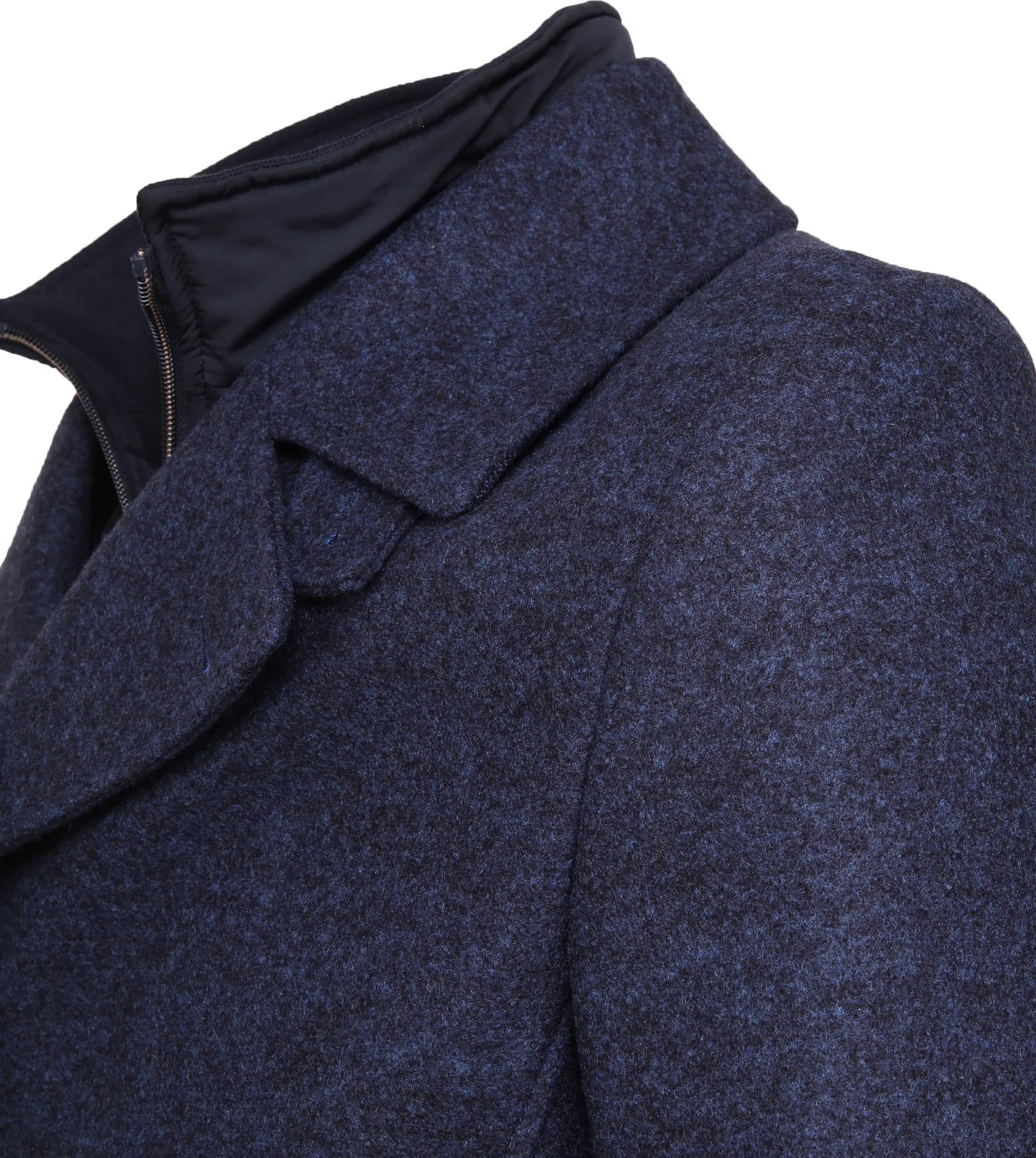 Suitable Turijn Coat Blauw foto 2