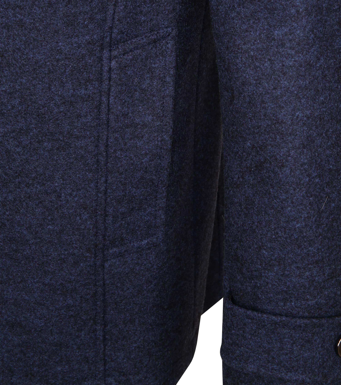 Suitable Turijn Coat Blauw foto 4