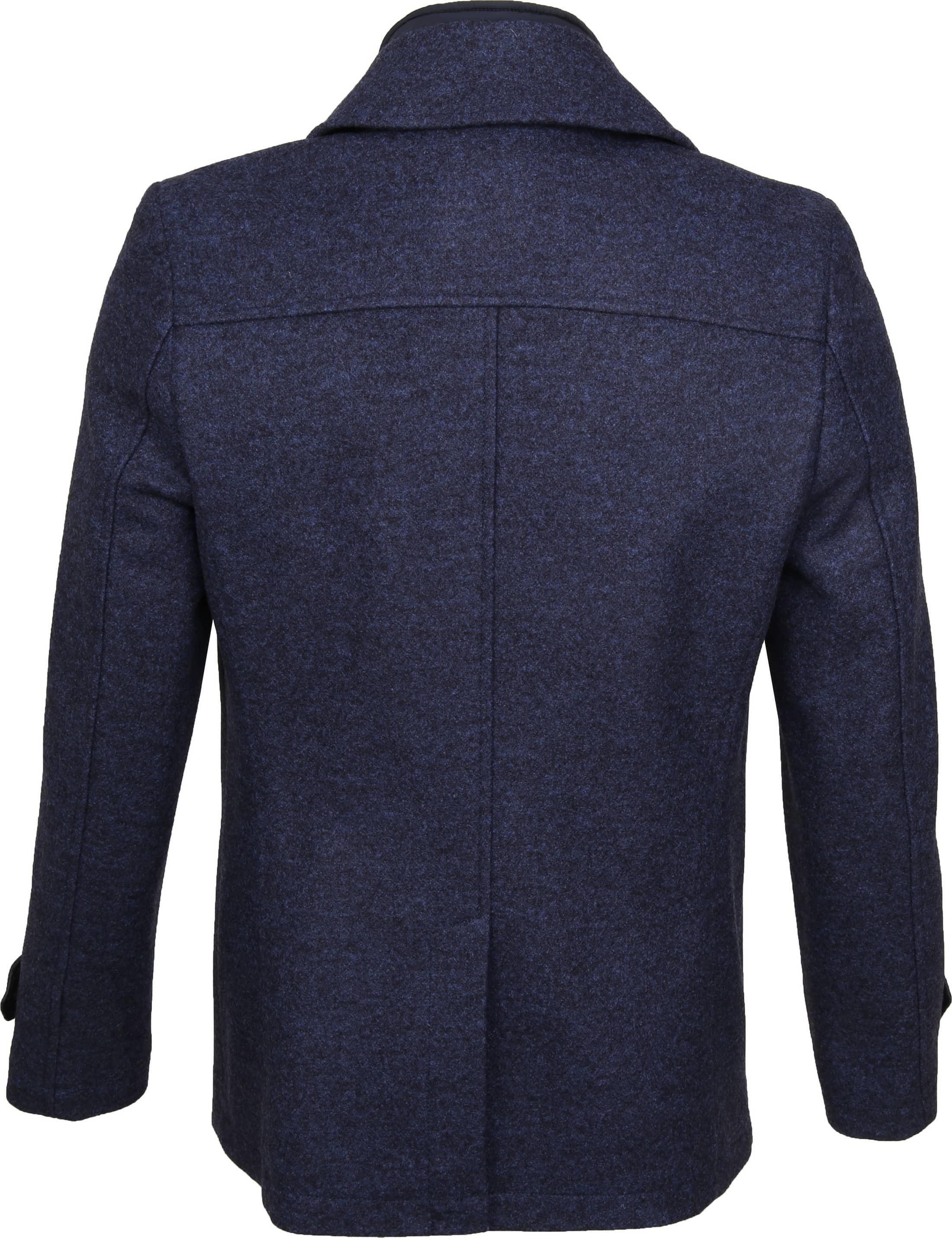 Suitable Turijn Coat Blauw foto 6