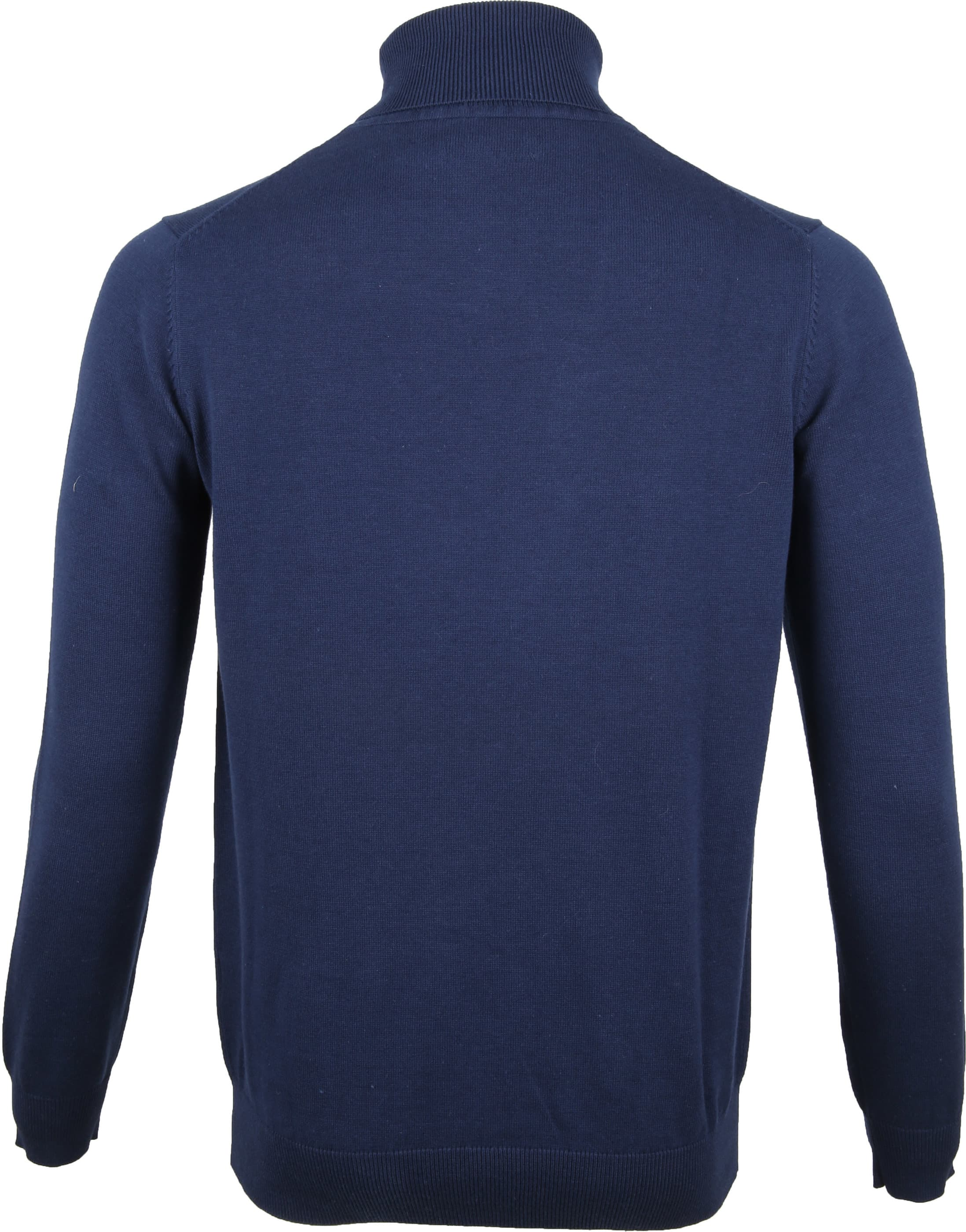 Suitable Turtleneck Dark Blue foto 2