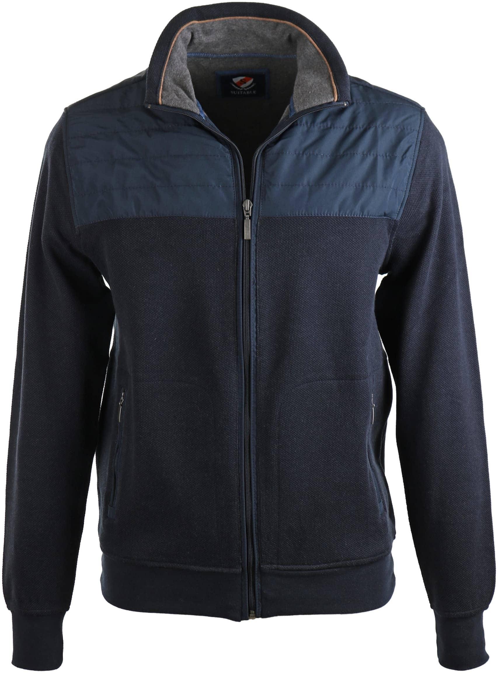 Suitable Vest Outdoor Donkerblauw foto 0