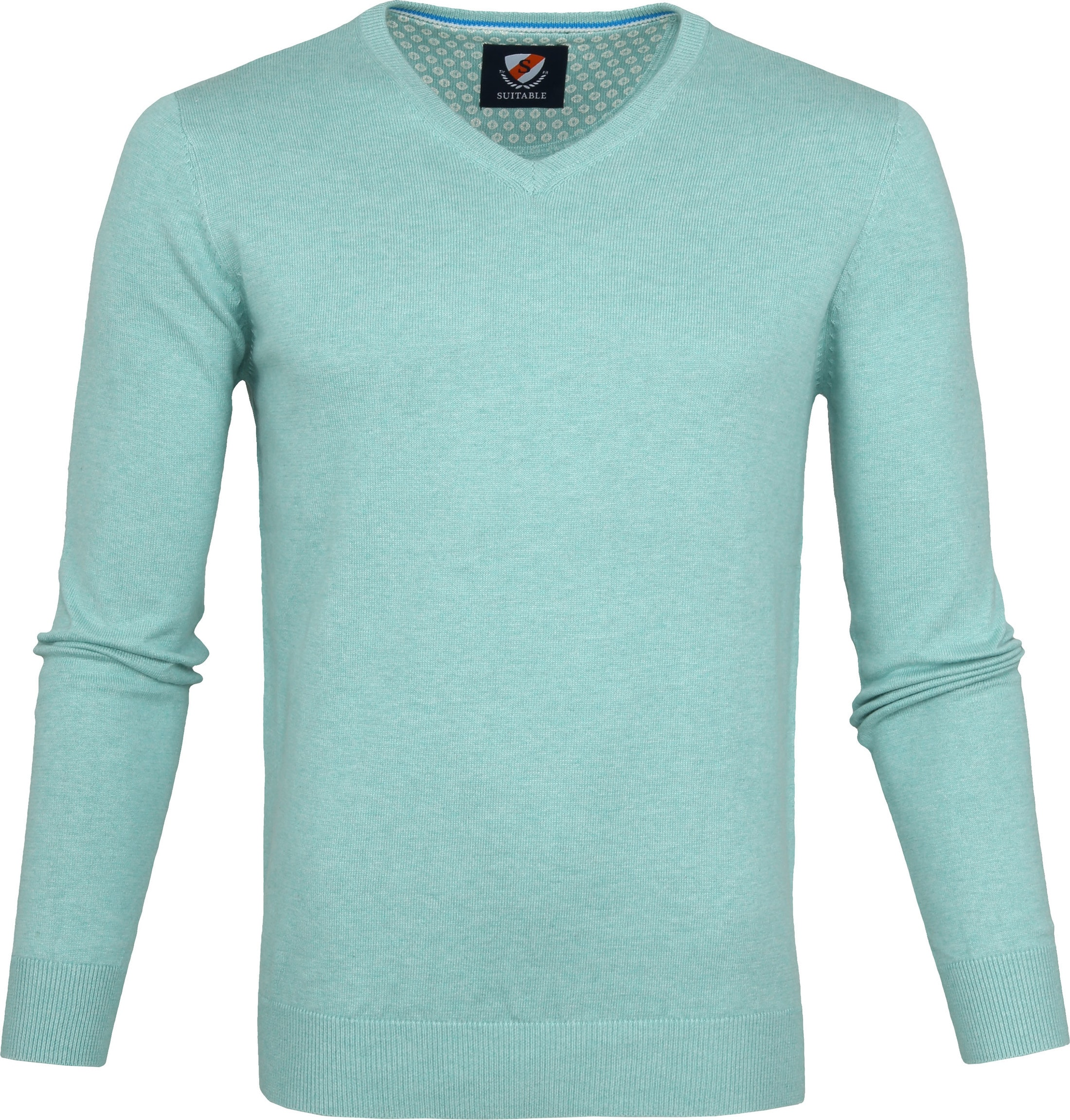 Suitable Vince Pullover Turquoise foto 0