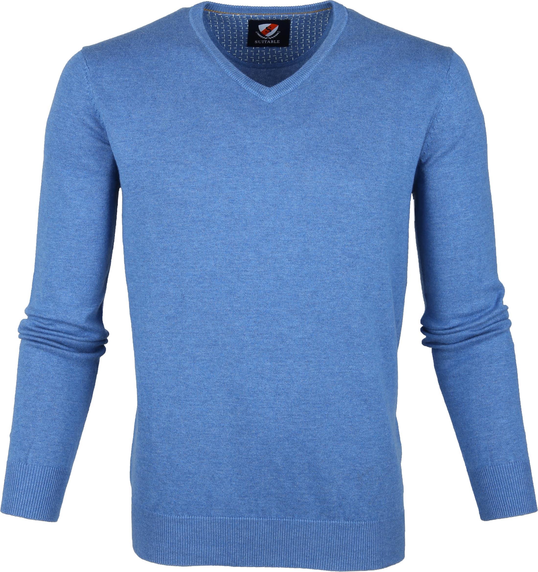 Suitable Vini Pullover Blauw foto 0