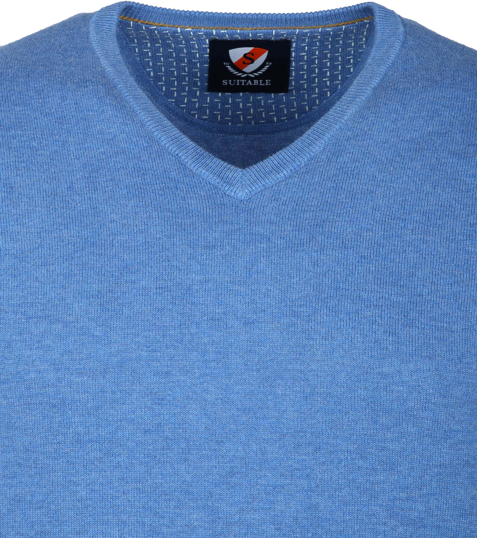 Suitable Vini Pullover Blauw foto 1